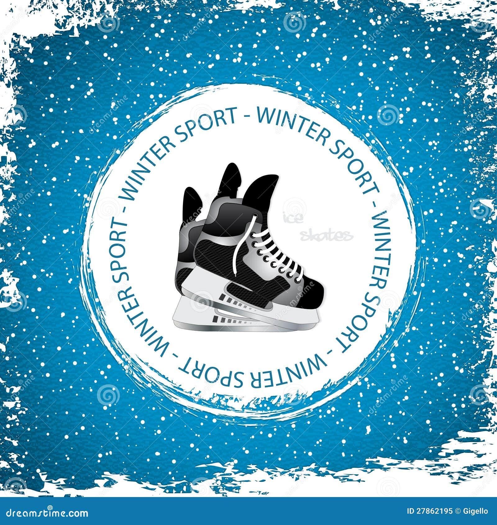 Zima sporta tło