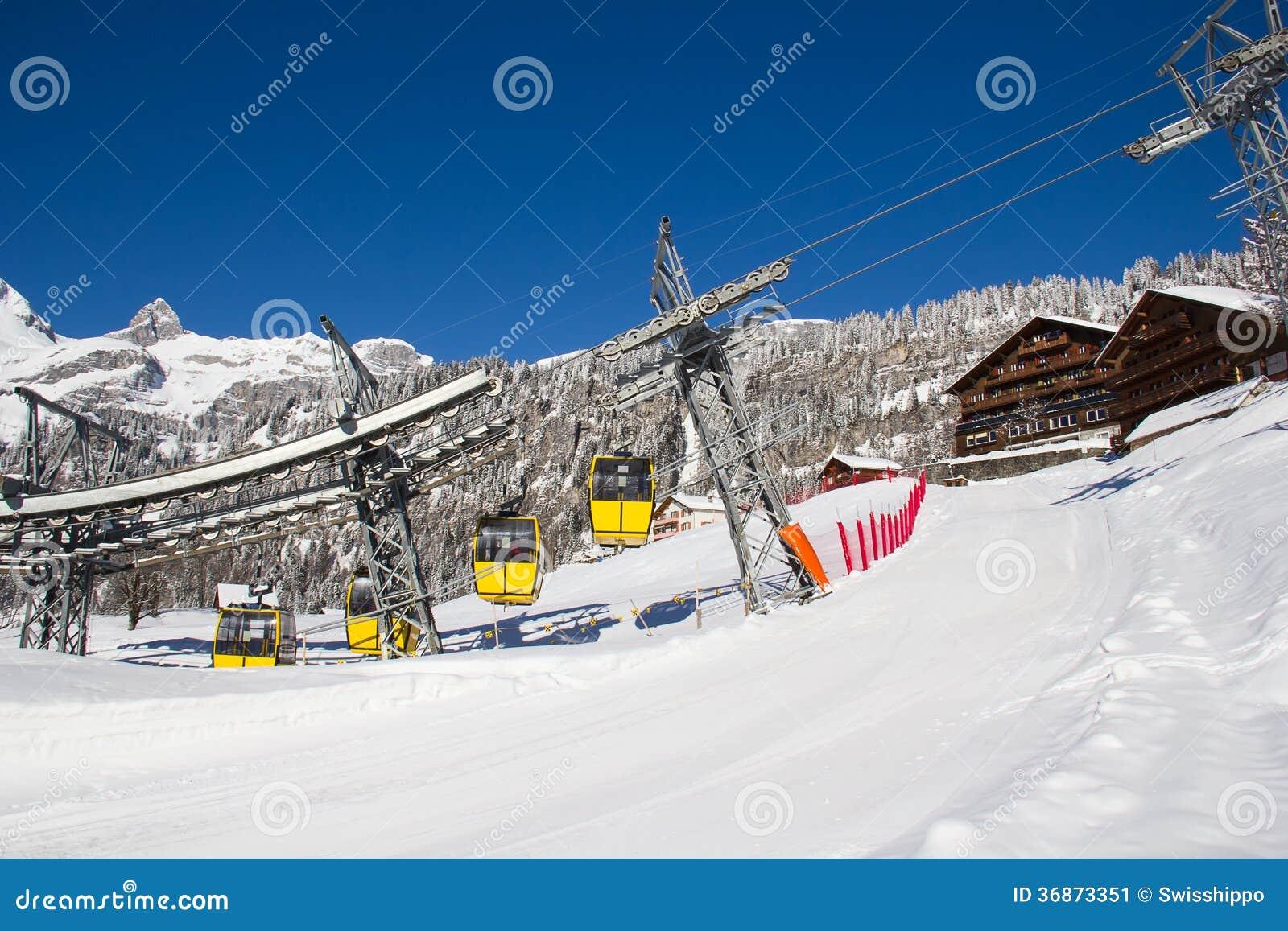 Zima w alps