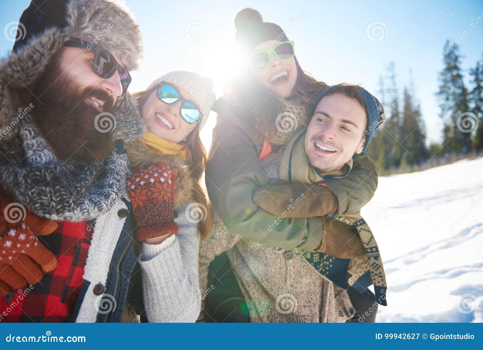 Zima wakacje