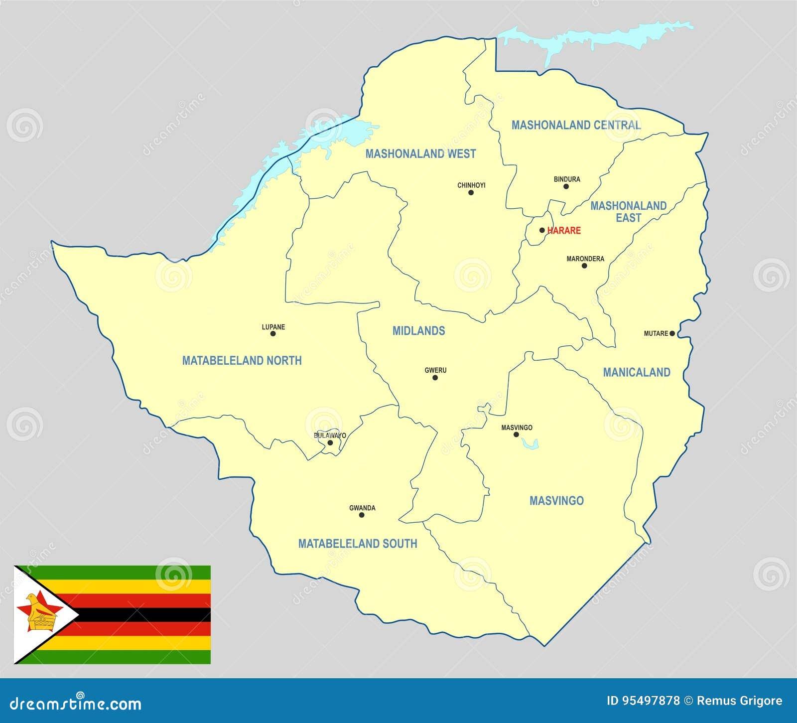 Zimbabwe map cdr format stock vector illustration of zimbabwe map cdr format gumiabroncs Image collections