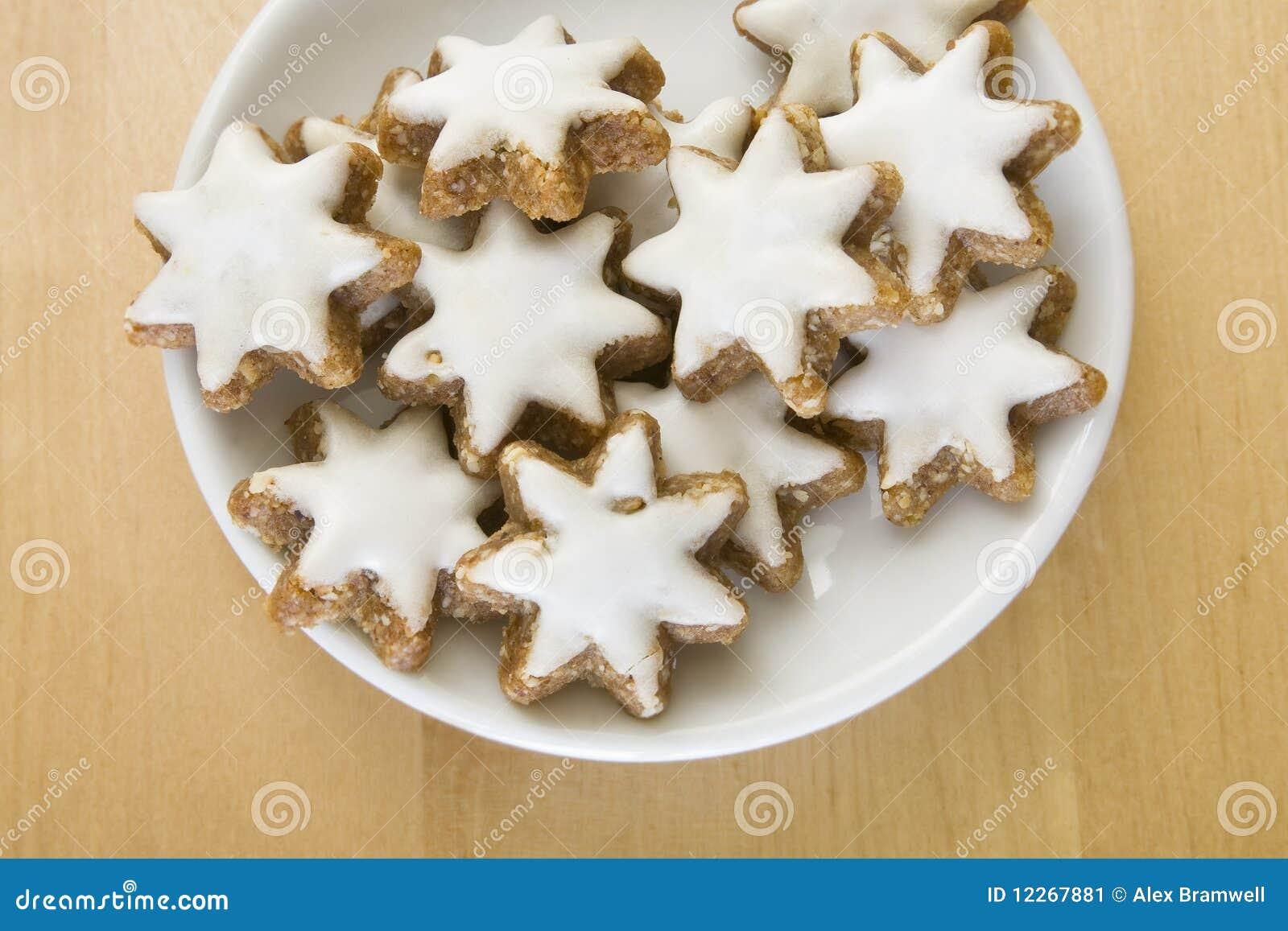 Weihnachtsplätzchen Schweiz.Zimtsterne Plätzchen Stockbild Bild Von Weihnachten 12267881