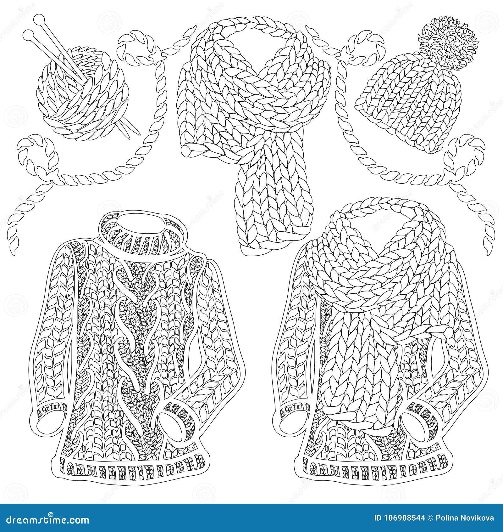 Zimy dziający akcesoria, odzież i -,