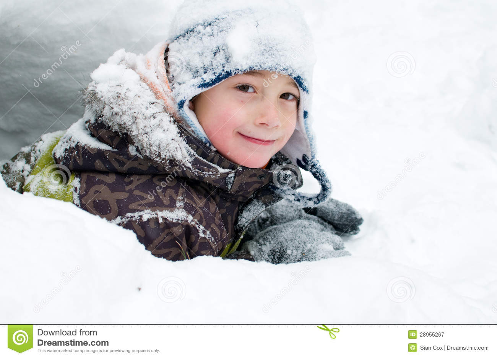 Zimy dziecko