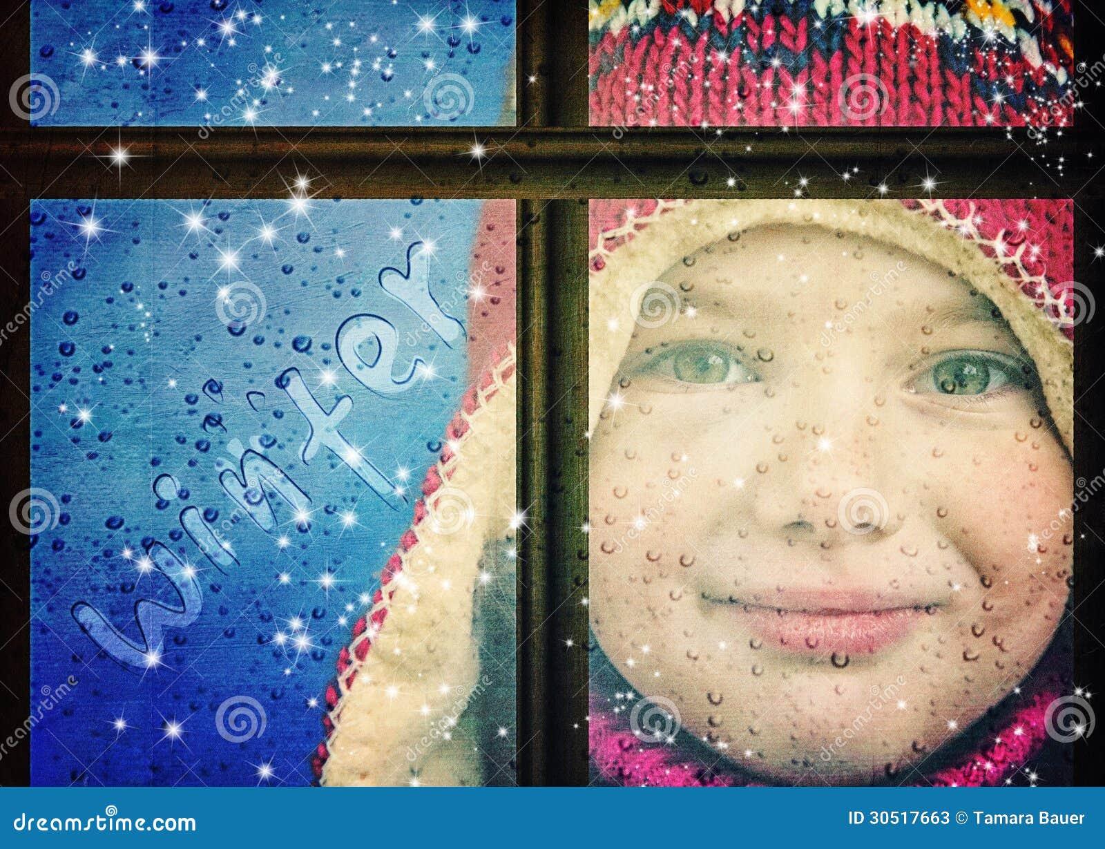 Zimy dziewczyna