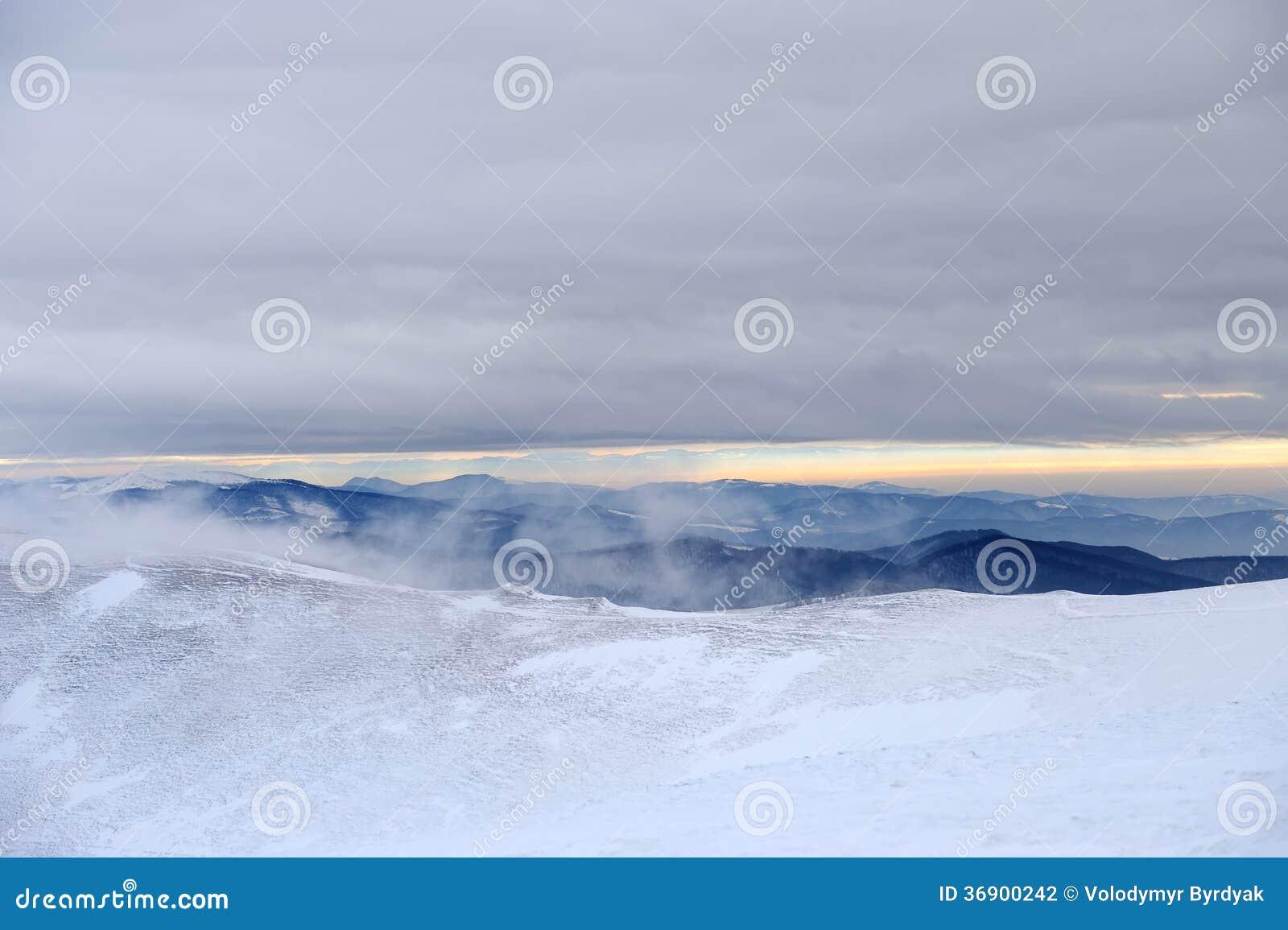 Zimy góra