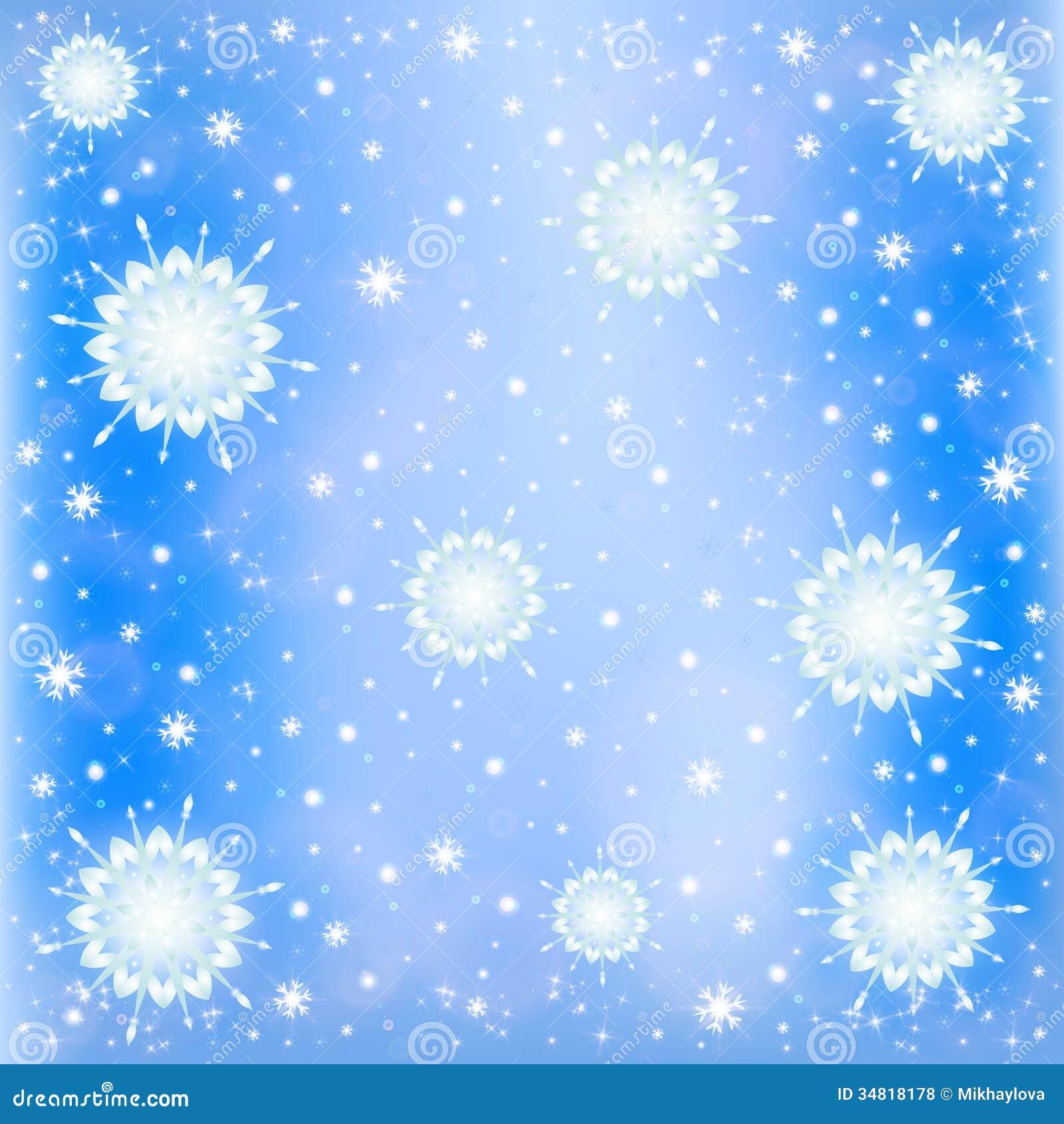 Zimy mroźny śnieżny tło