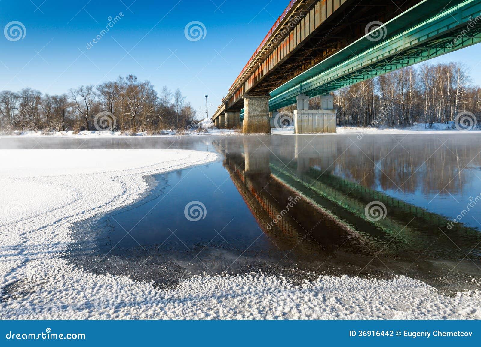 Zimy rzeka
