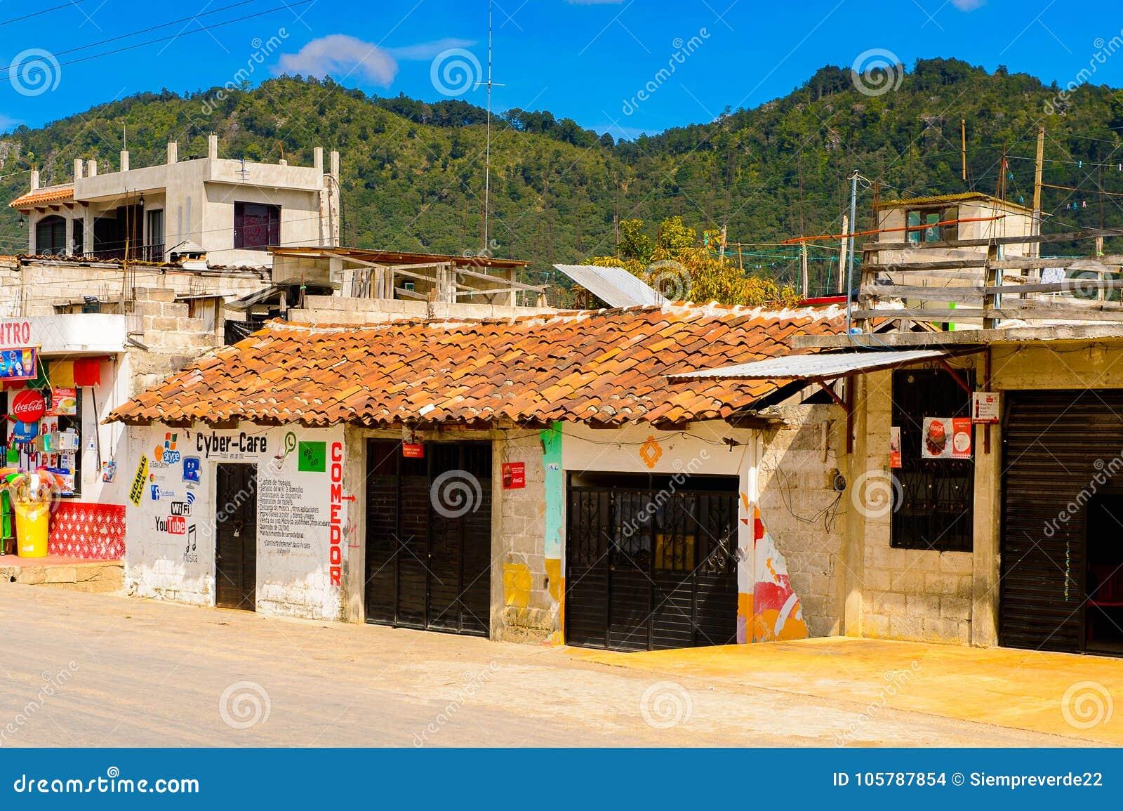 Zinacantan, Staat Van Chiapas, Mexico Redactionele Stock ...