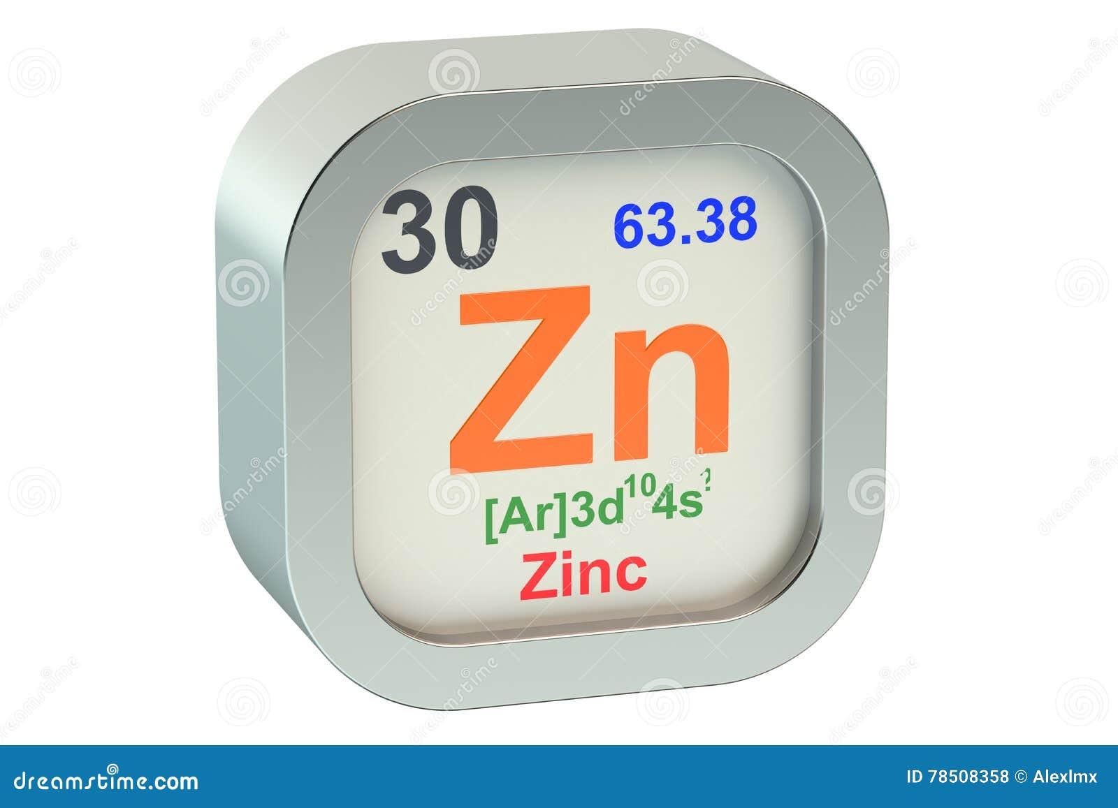 Zinc Stock Illustration Illustration Of Education Energy 78508358