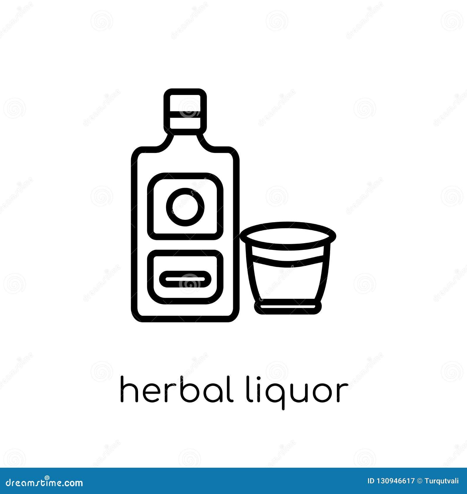 Ziołowa trunek ikona od napojów inkasowych