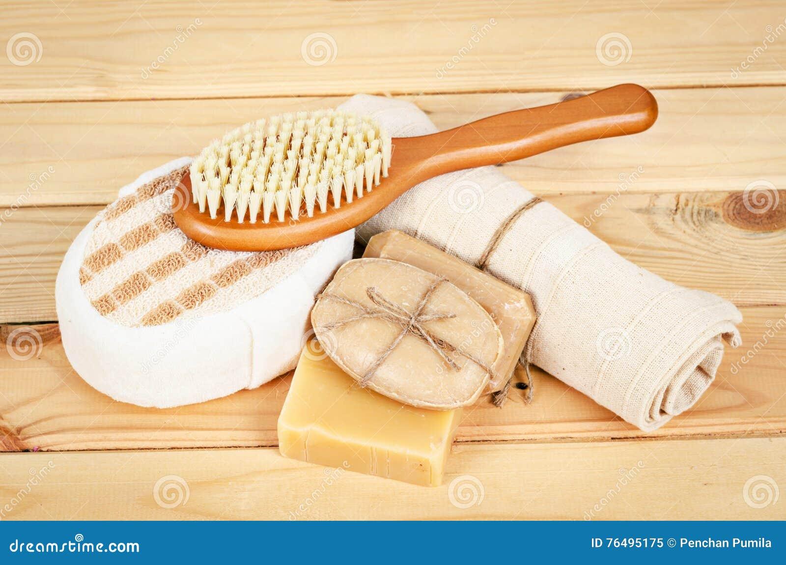 Ziołowy mydła i setu zdrój