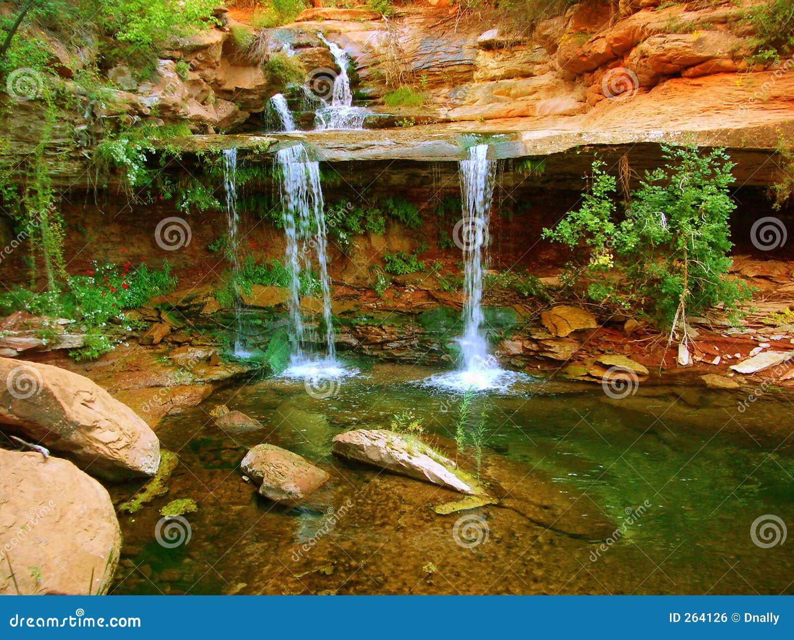 Zion Double Falls