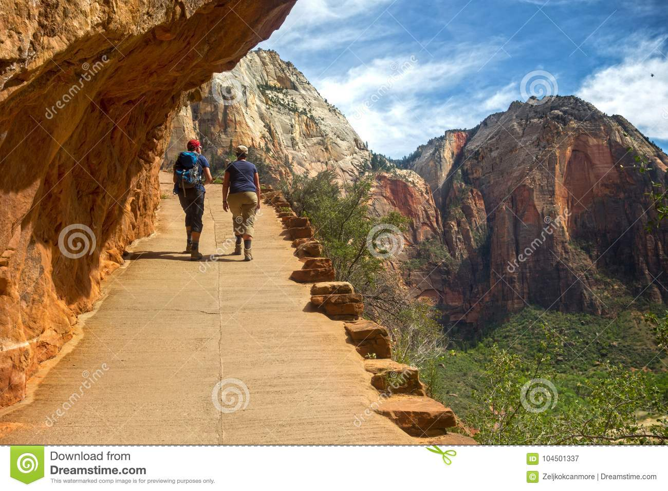 Zion National Park Springtime Hiking