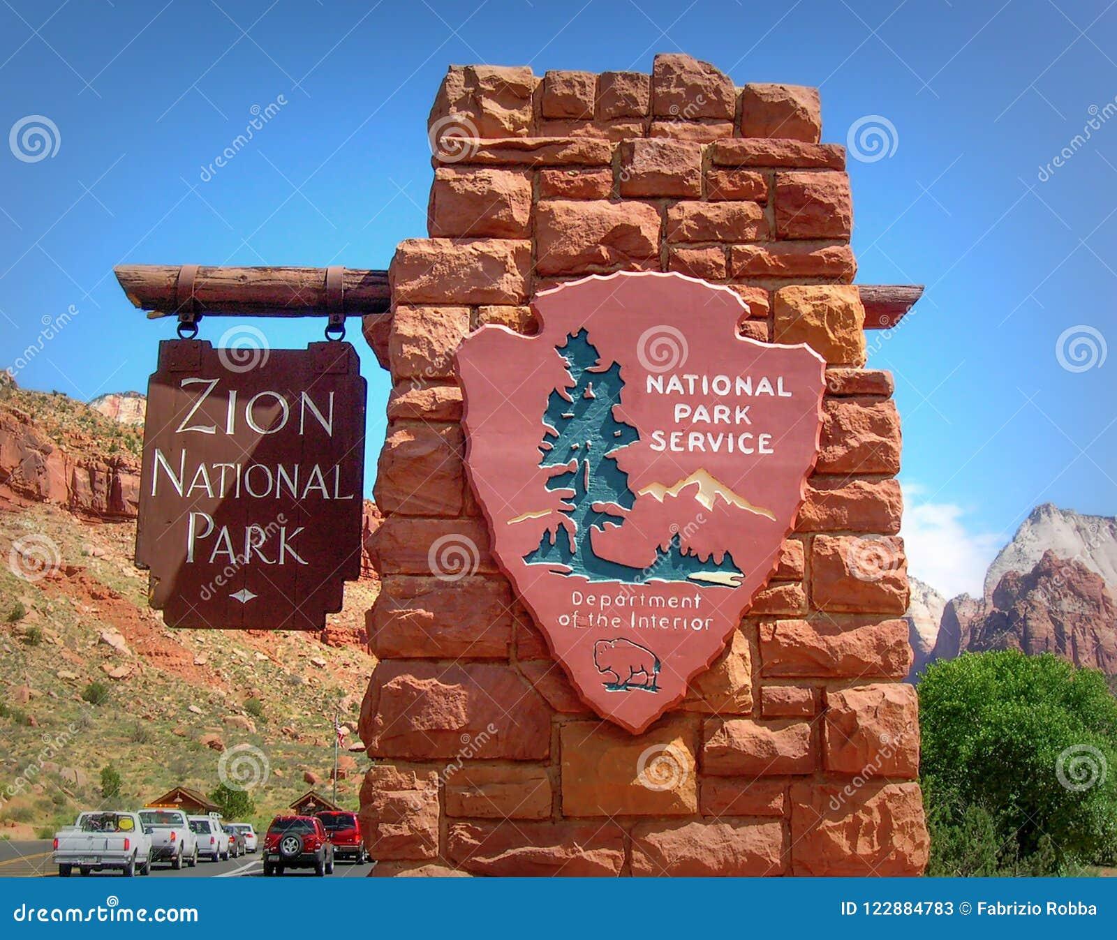 Zion park narodowy w Utah, U S A
