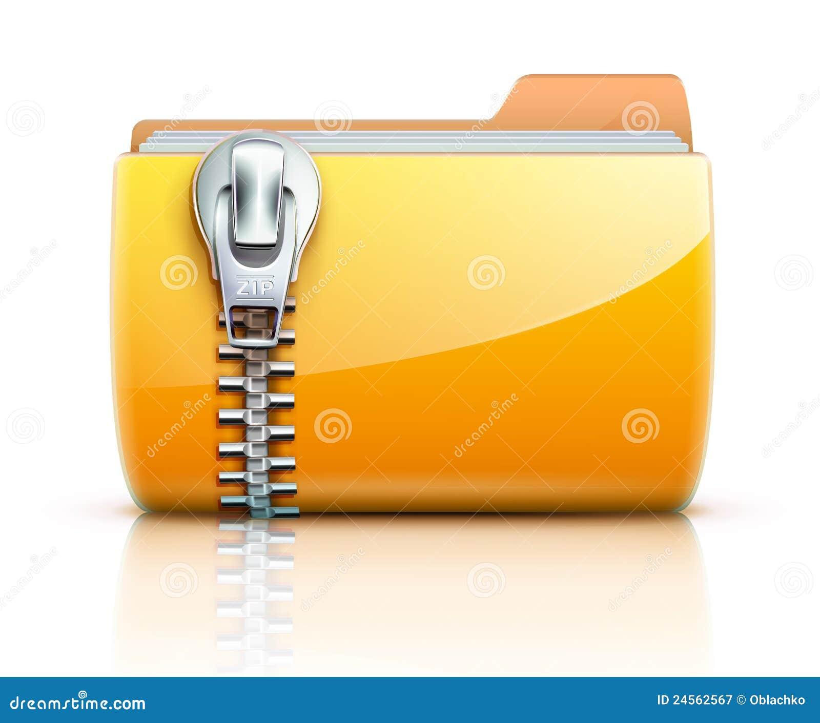 zip folder icon stock vector image of communication zipper vector png zipper vector drawings