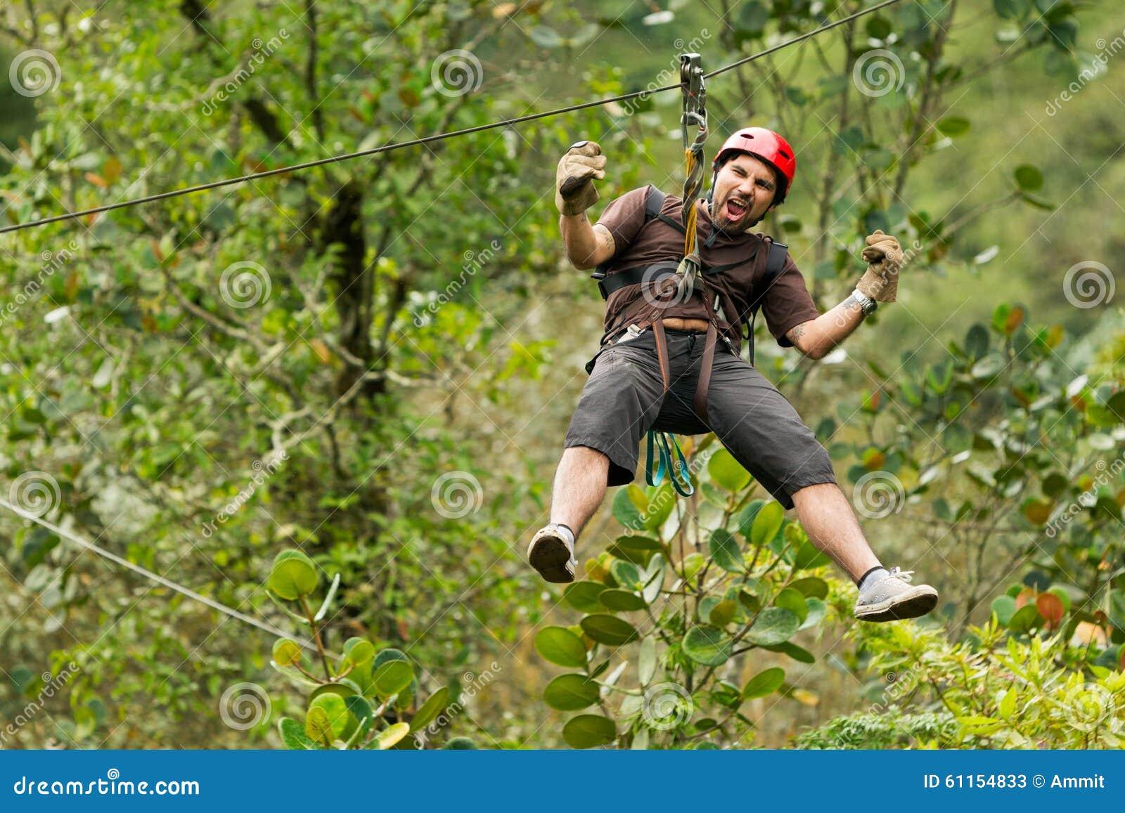 Ziplinie Abenteuer