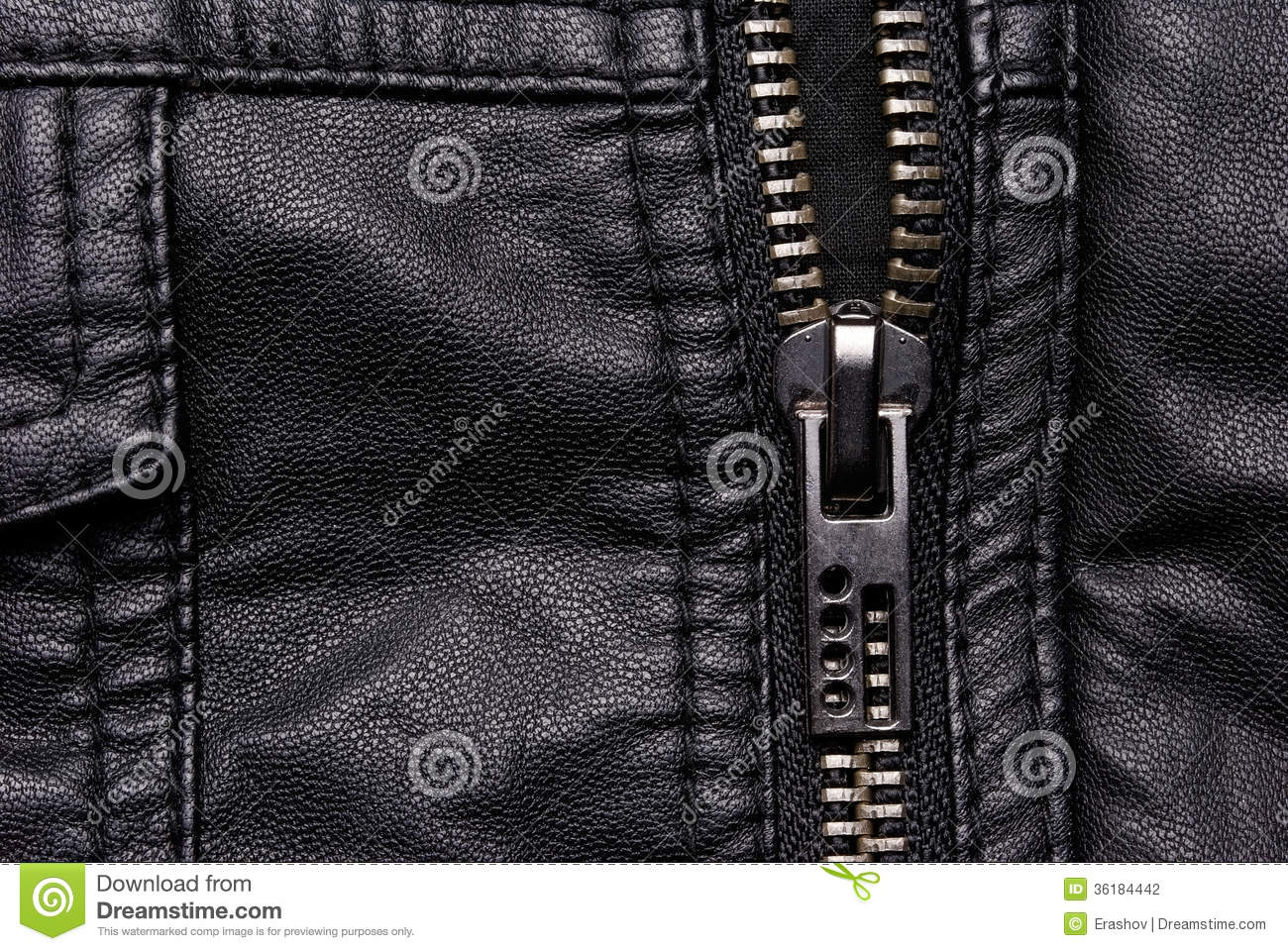 how to fix a zipper on a leather jacket
