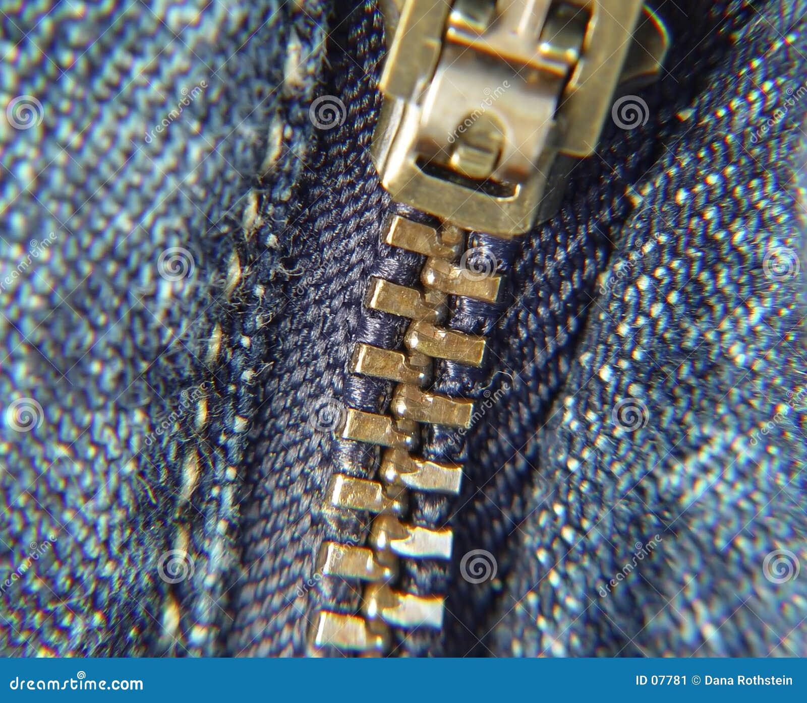 Zipper das calças