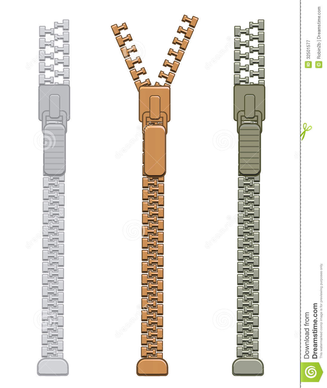 Zipper Royalty Free Stock Photography - Image: 32501577