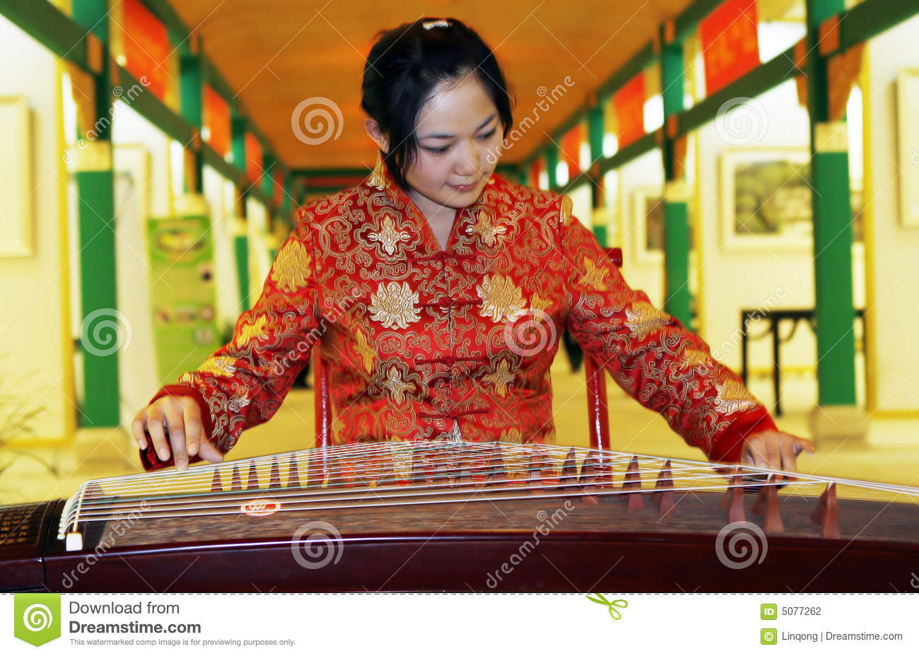 Zither cinese.