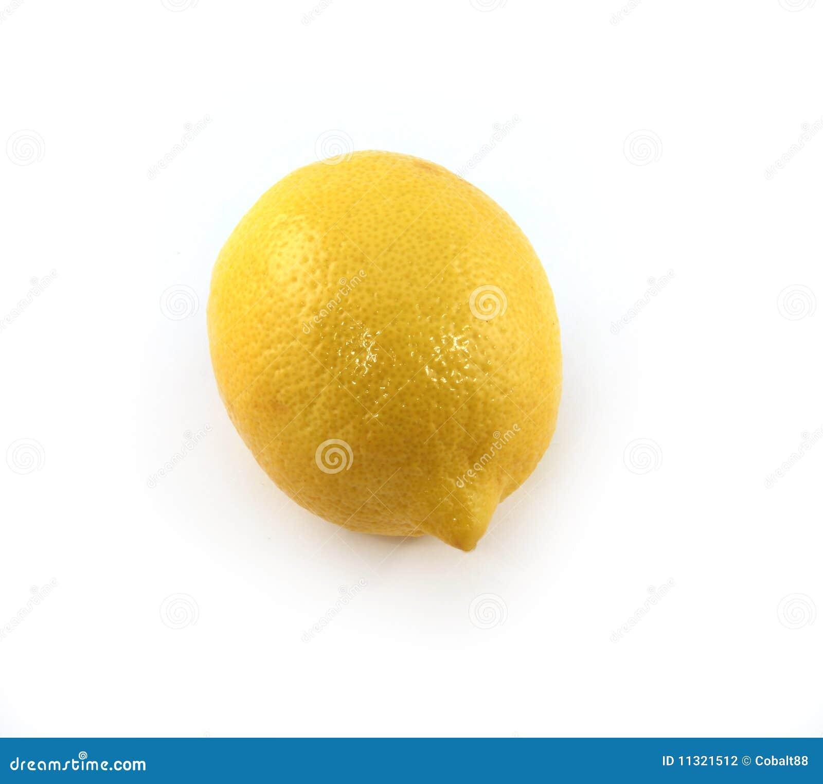 Zitrone getrennt
