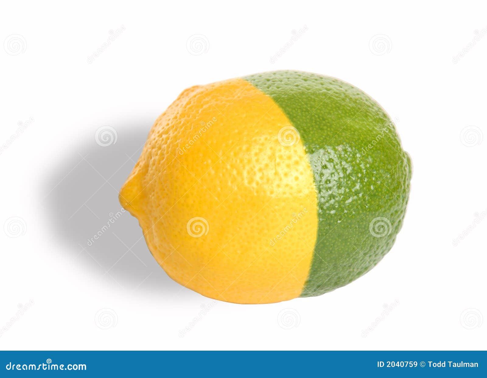 Zitrone-Kalk