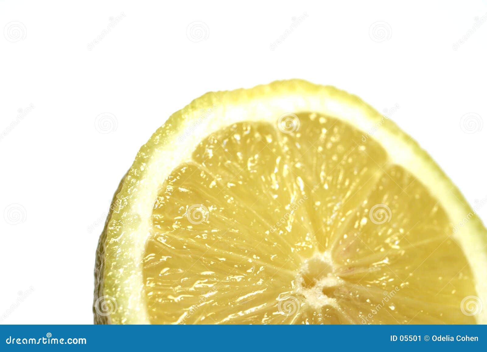 Zitrone-Scheibe
