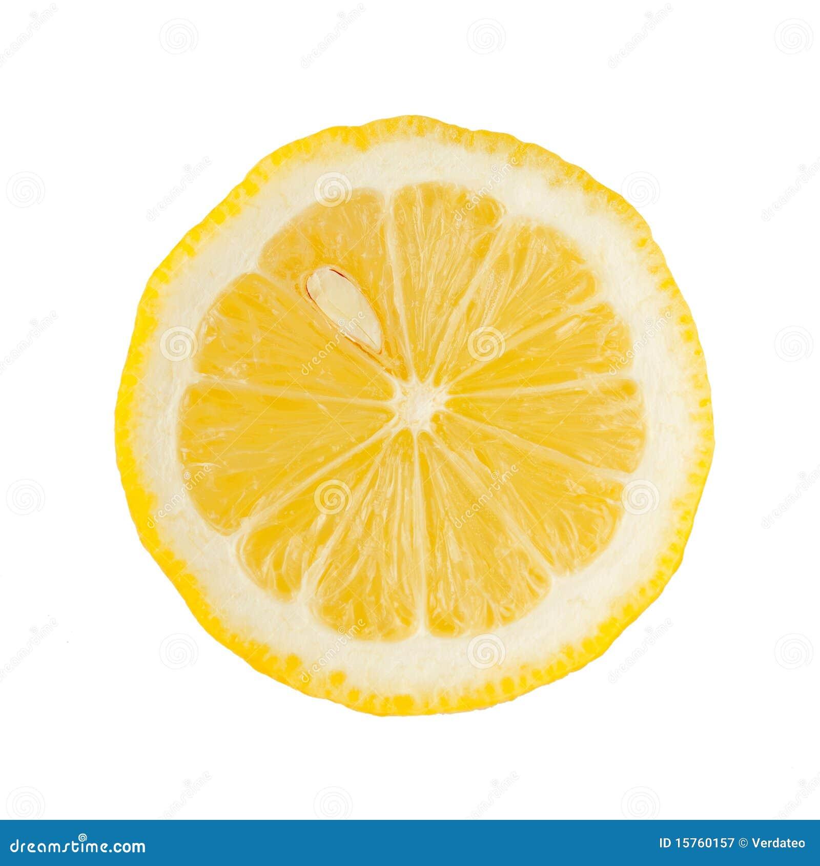 Zitronescheibe