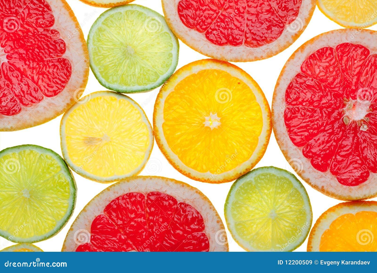 Zitrusfruchtnahrungsmittelhintergrund