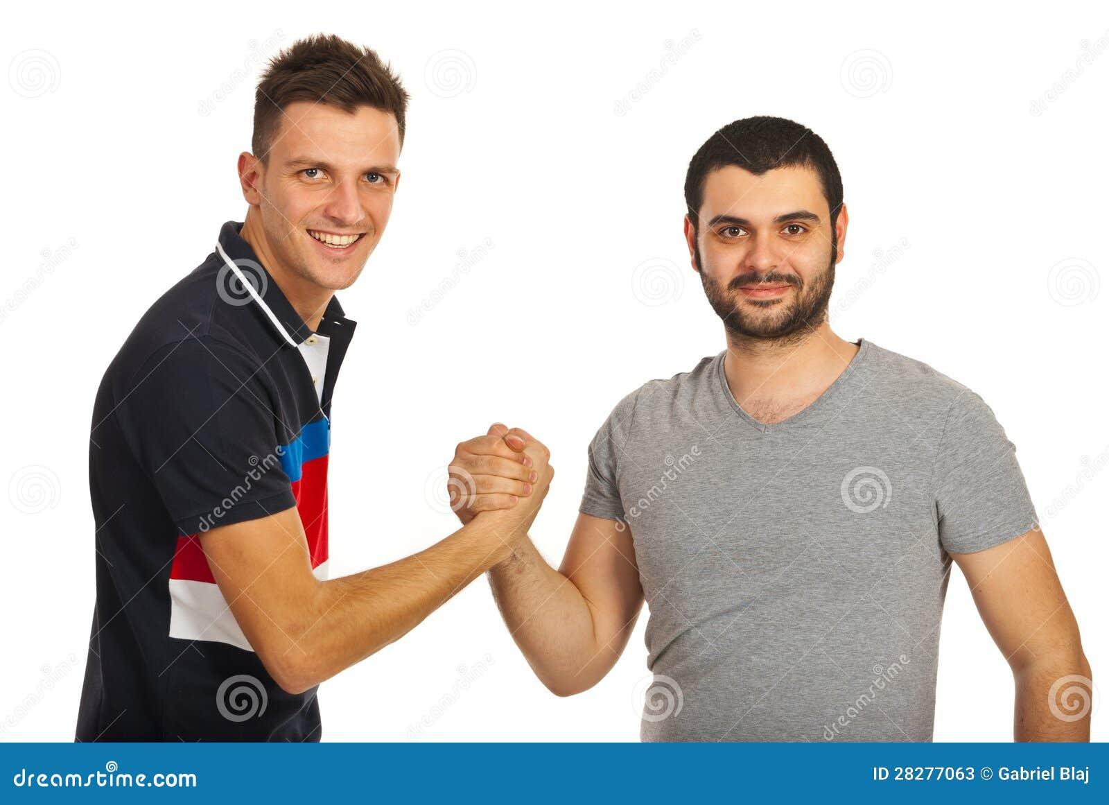 Zlany dwa przyjaciela faceta