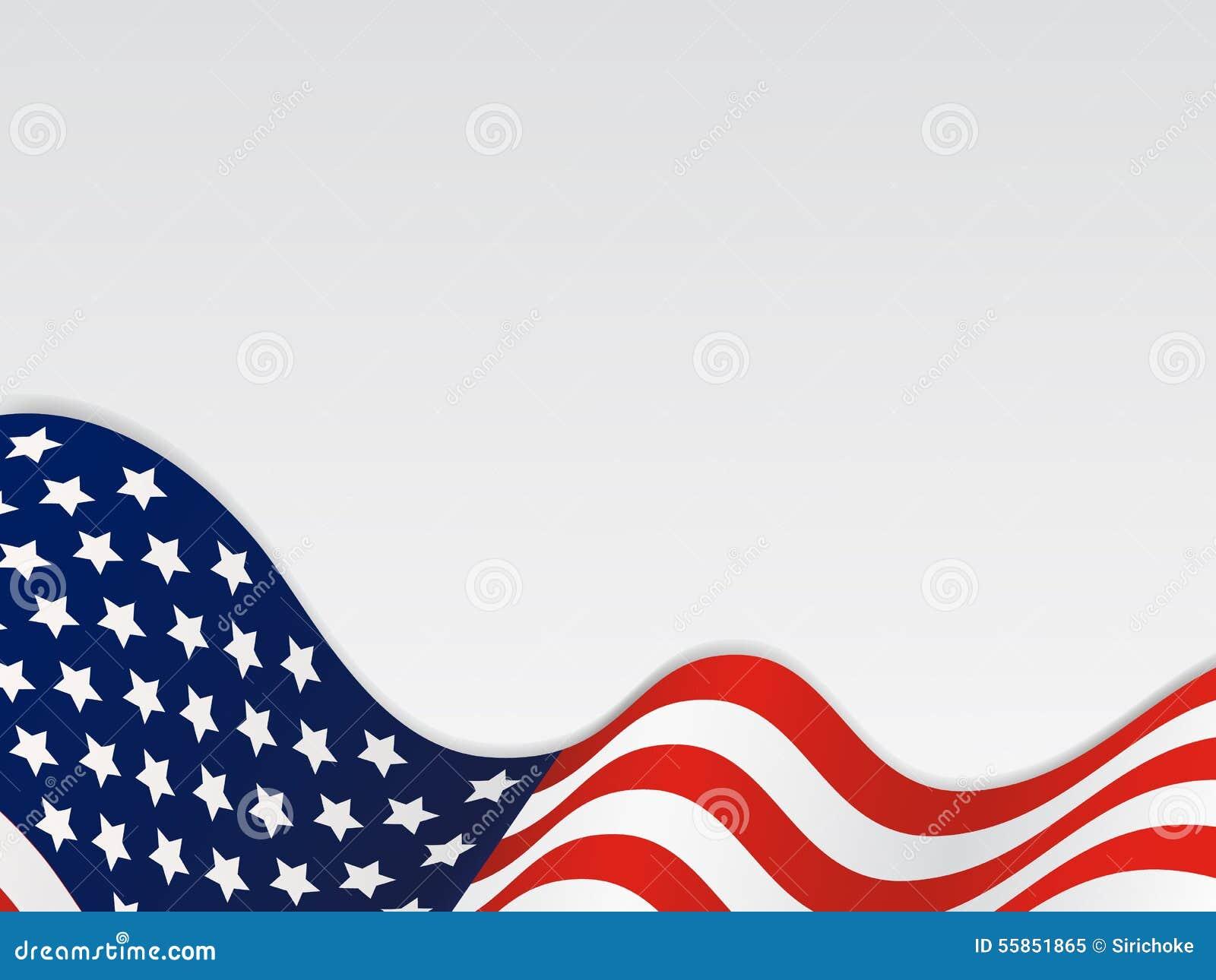 Zlany stan Ameryka Falisty Chorągwiany tło