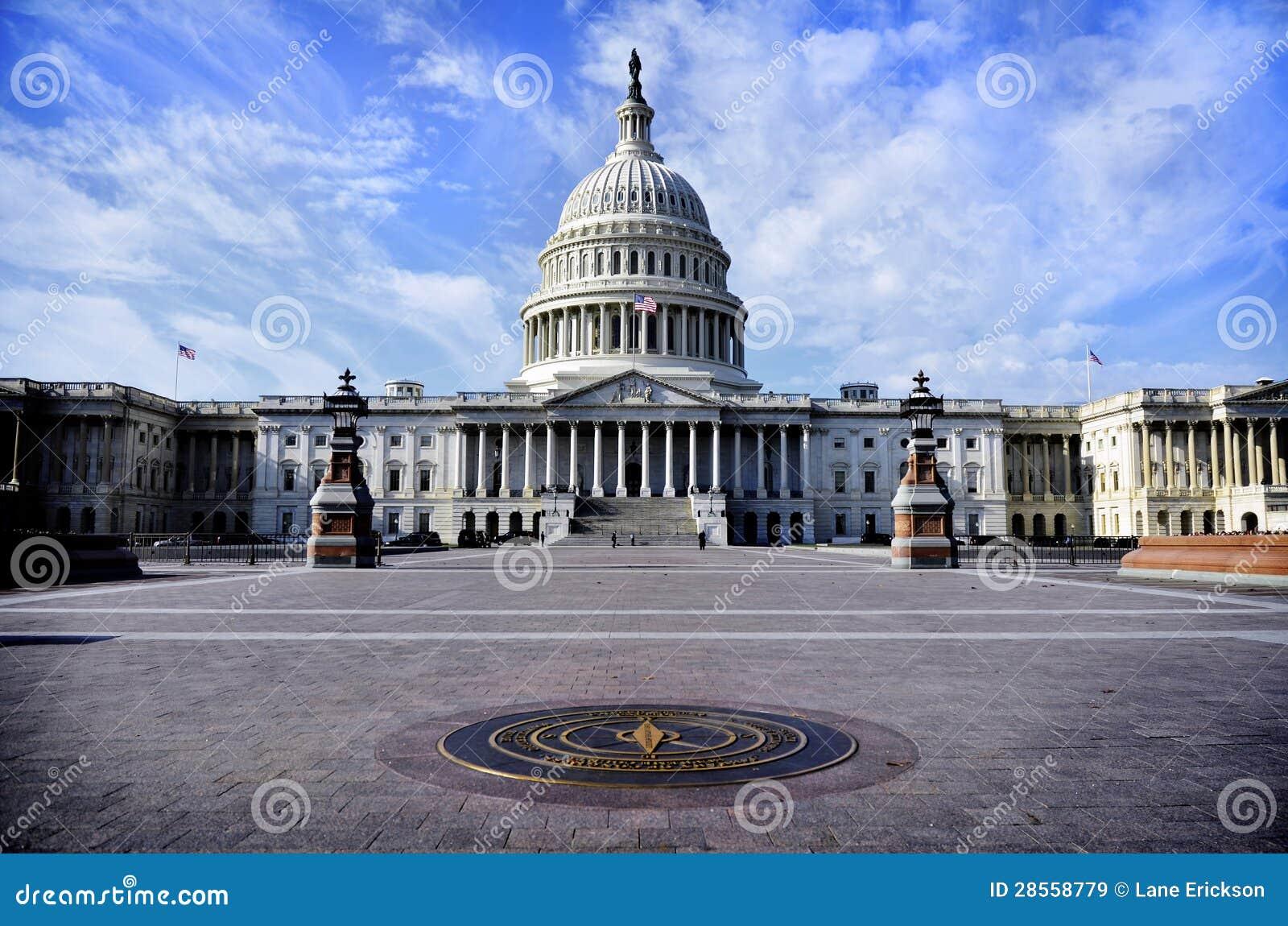 Zlany stanu Capitol budynek