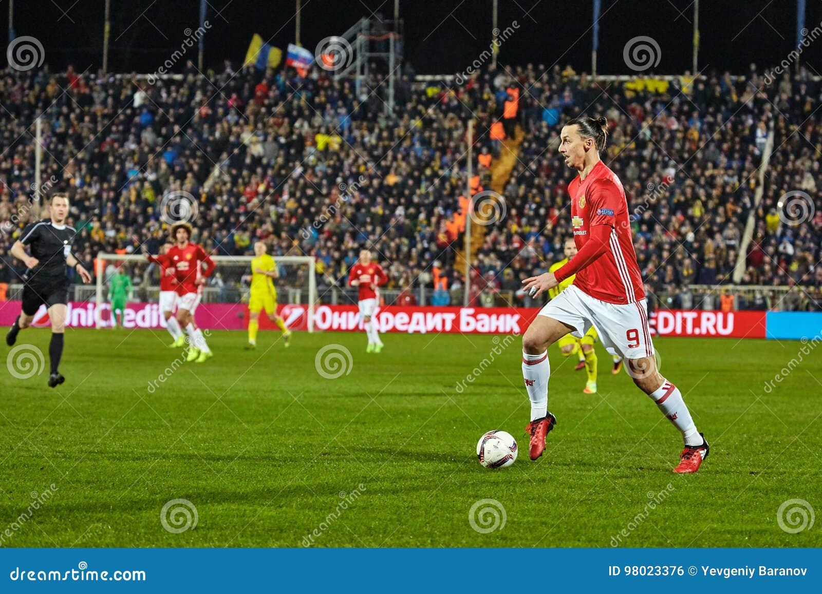 82c3151a3 Zlatan Ibrahimovic Feyenoord Game Moments Editorial Photo - Image of ...
