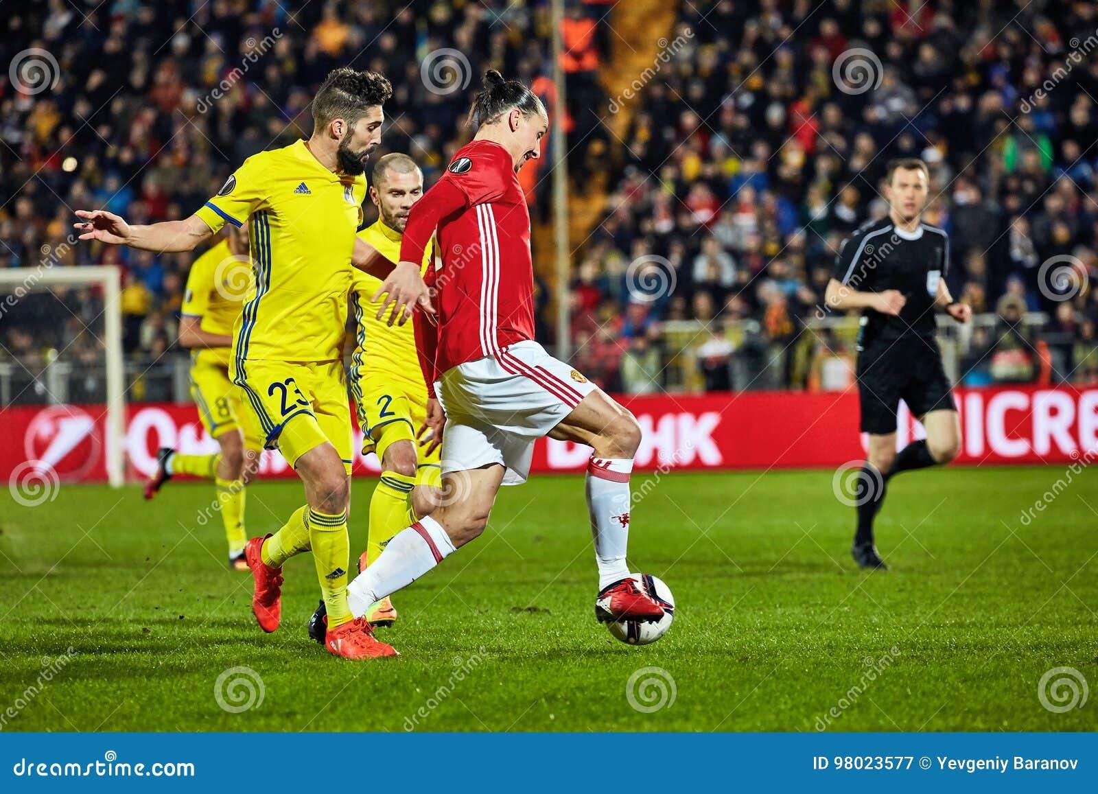 e2b433fbe Zlatan Ibrahimovic Feyenoord Game Moments Editorial Photography ...