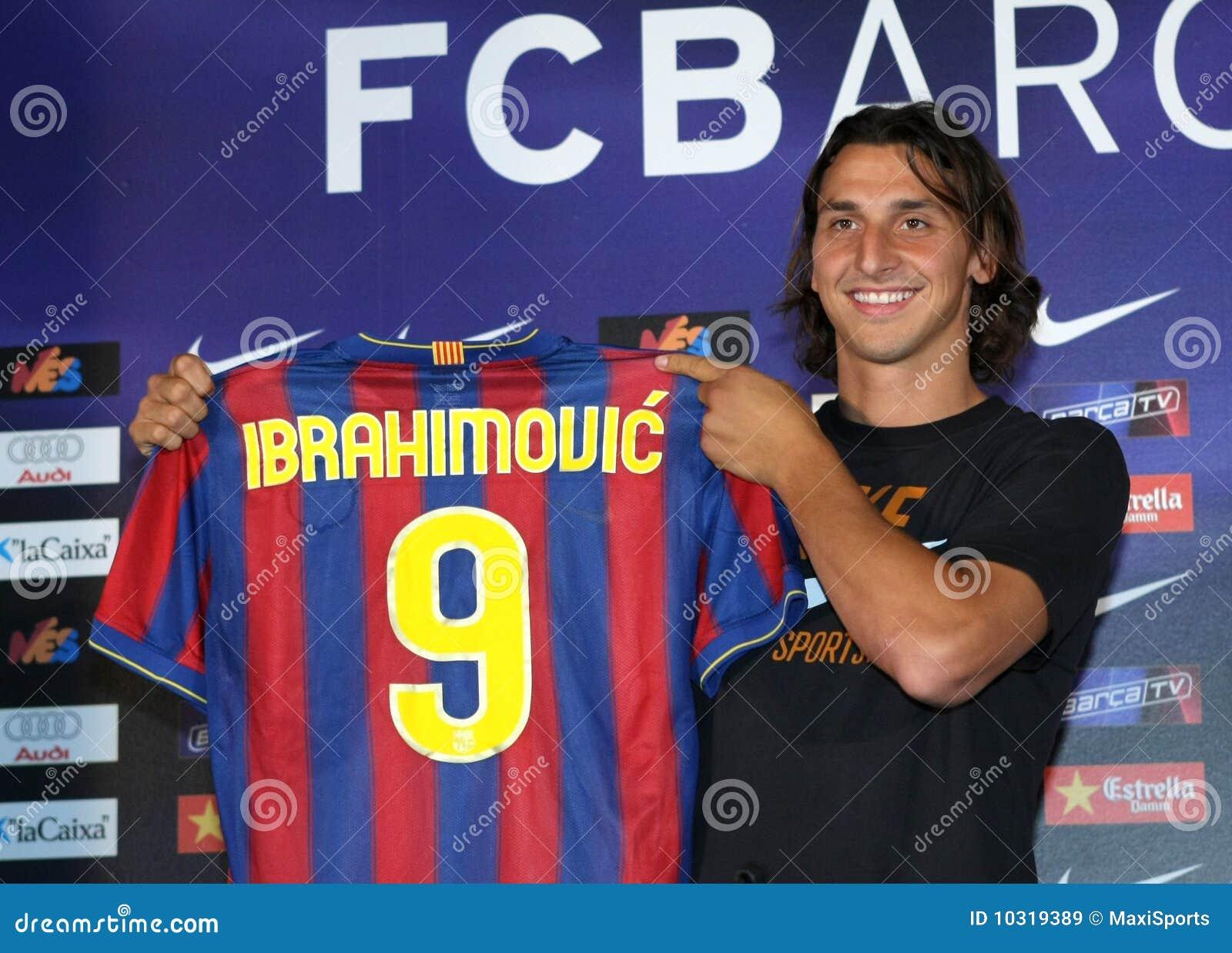 Zlatan Ibrahimovic presentation