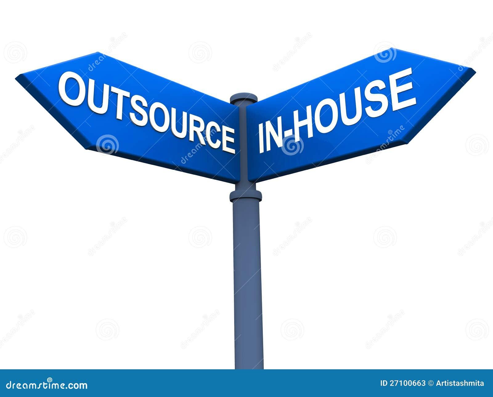 Zlecać na zewnątrz versus zlecać na zewnątrz