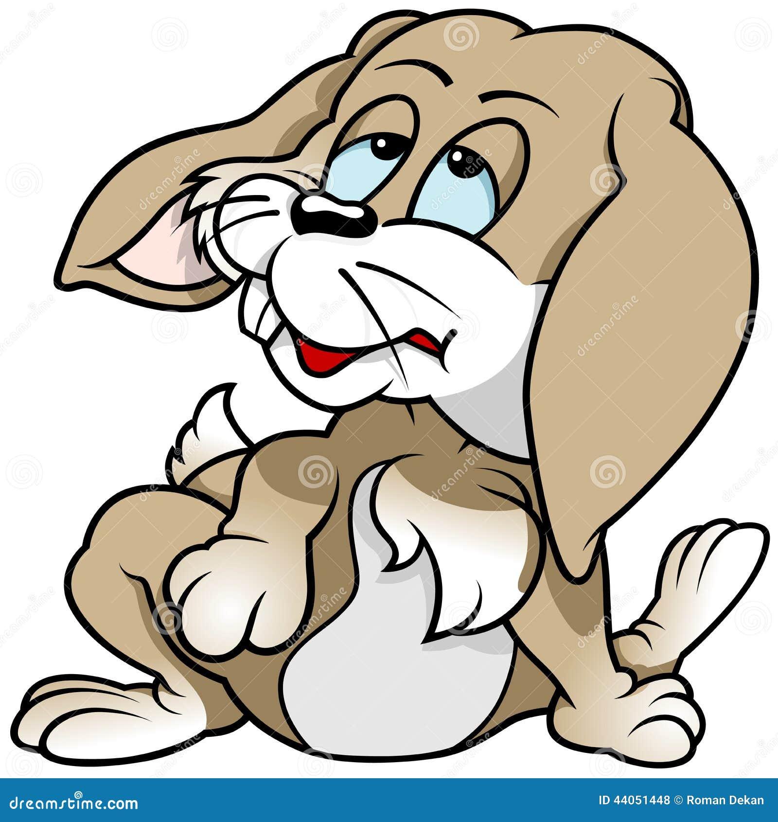 Zmęczony królik
