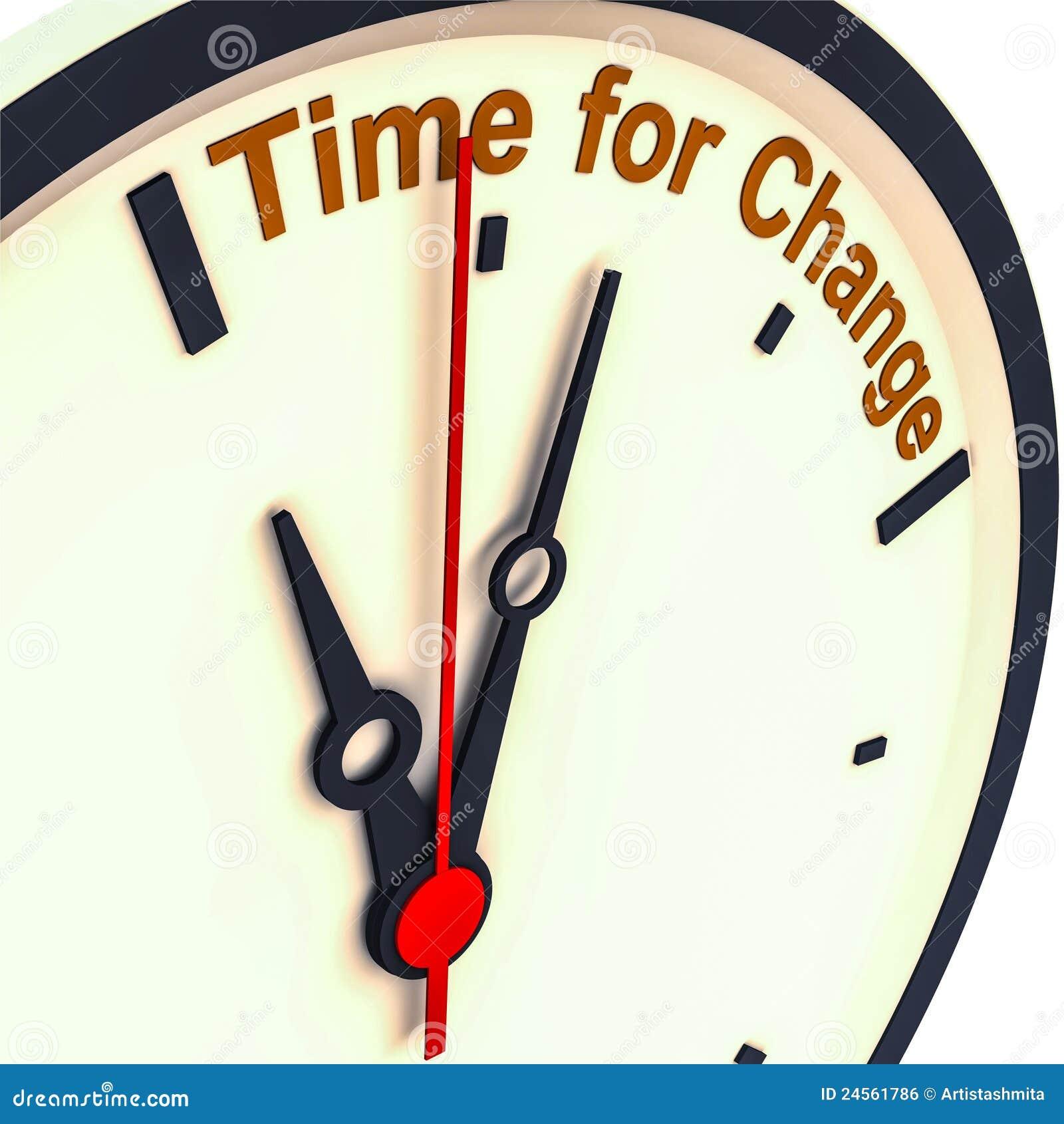 Zmiana czas