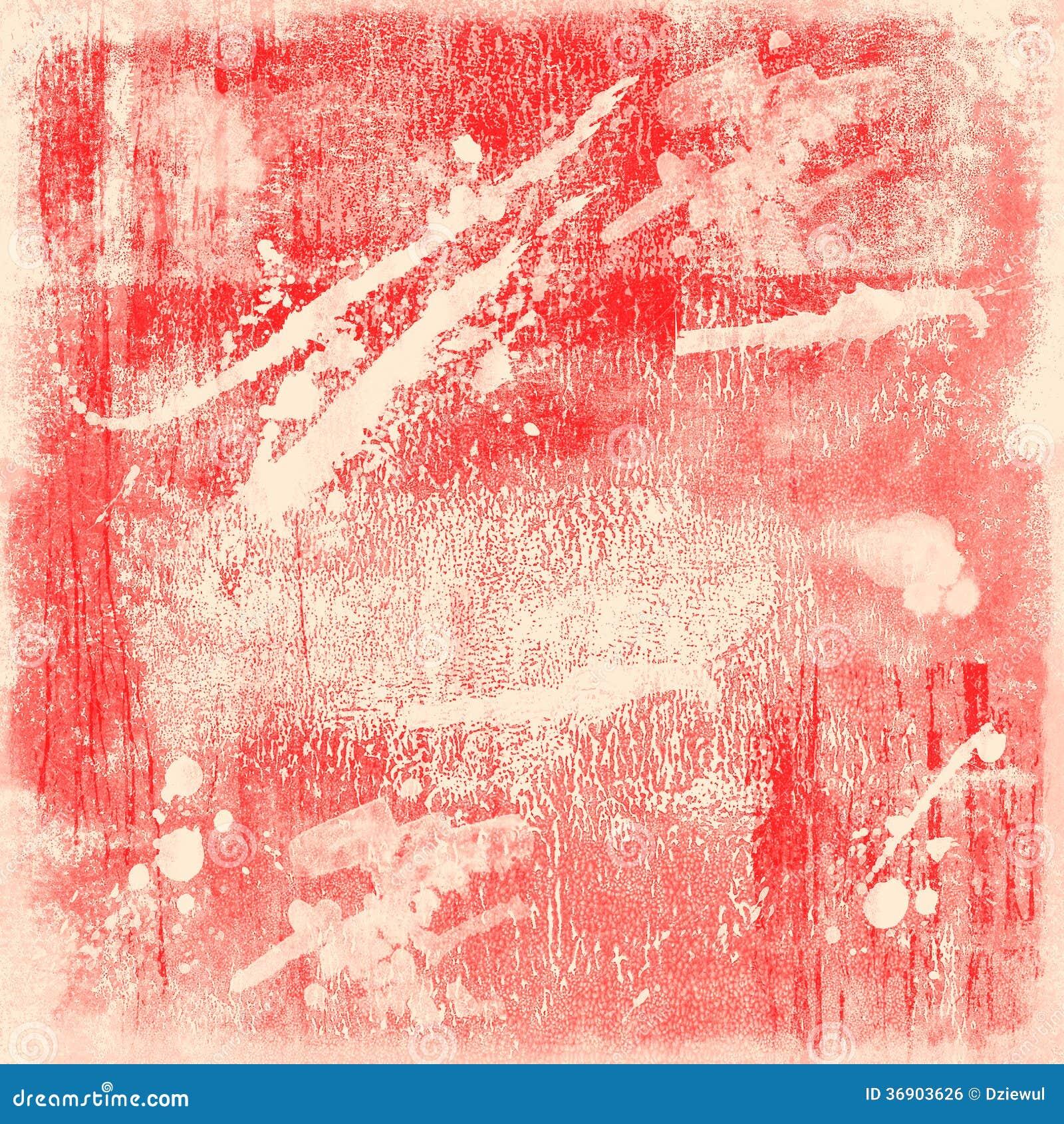Zmrok - czerwony grunge tło