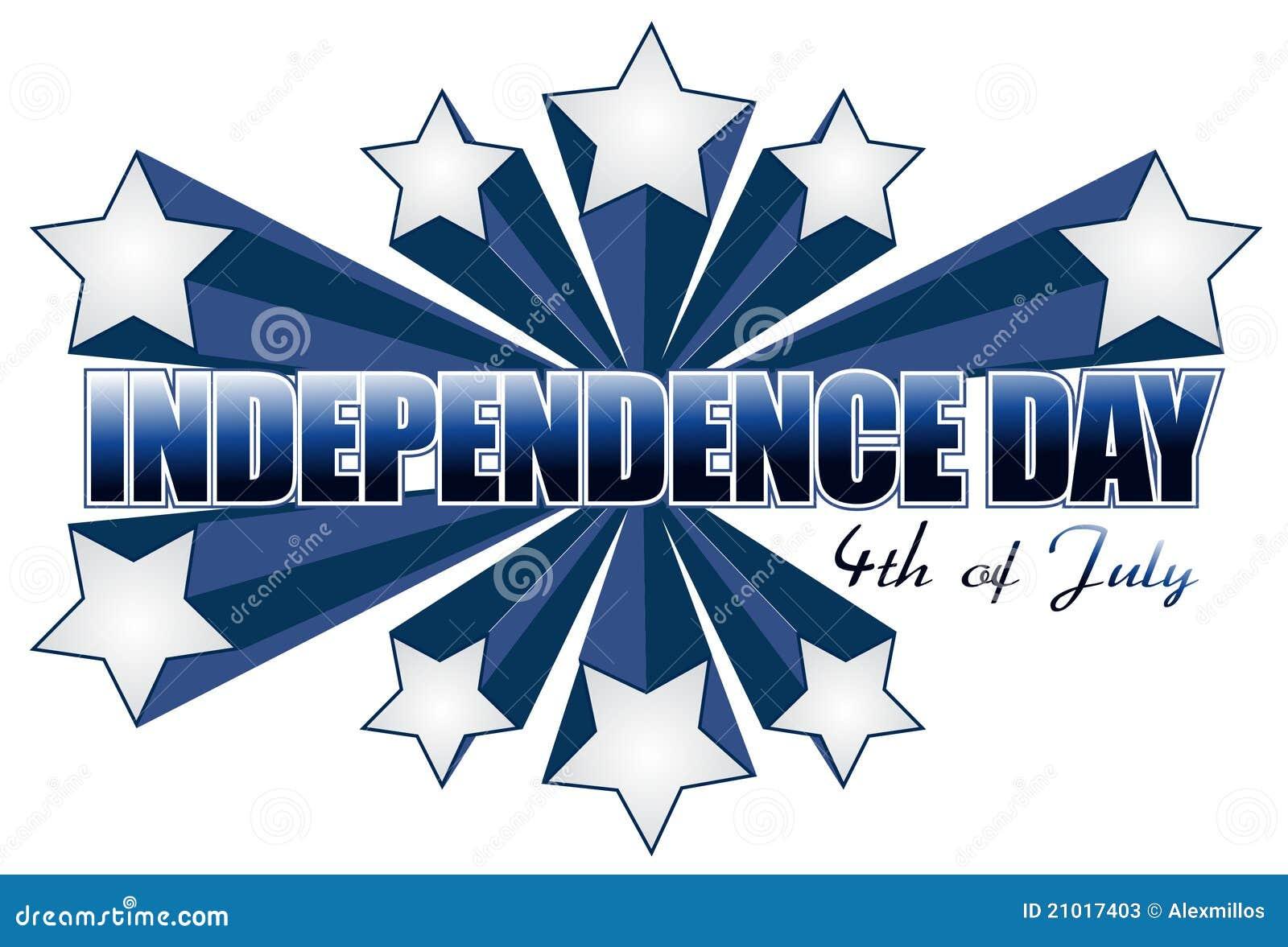 Znak dzień niezależności Lipiec znak
