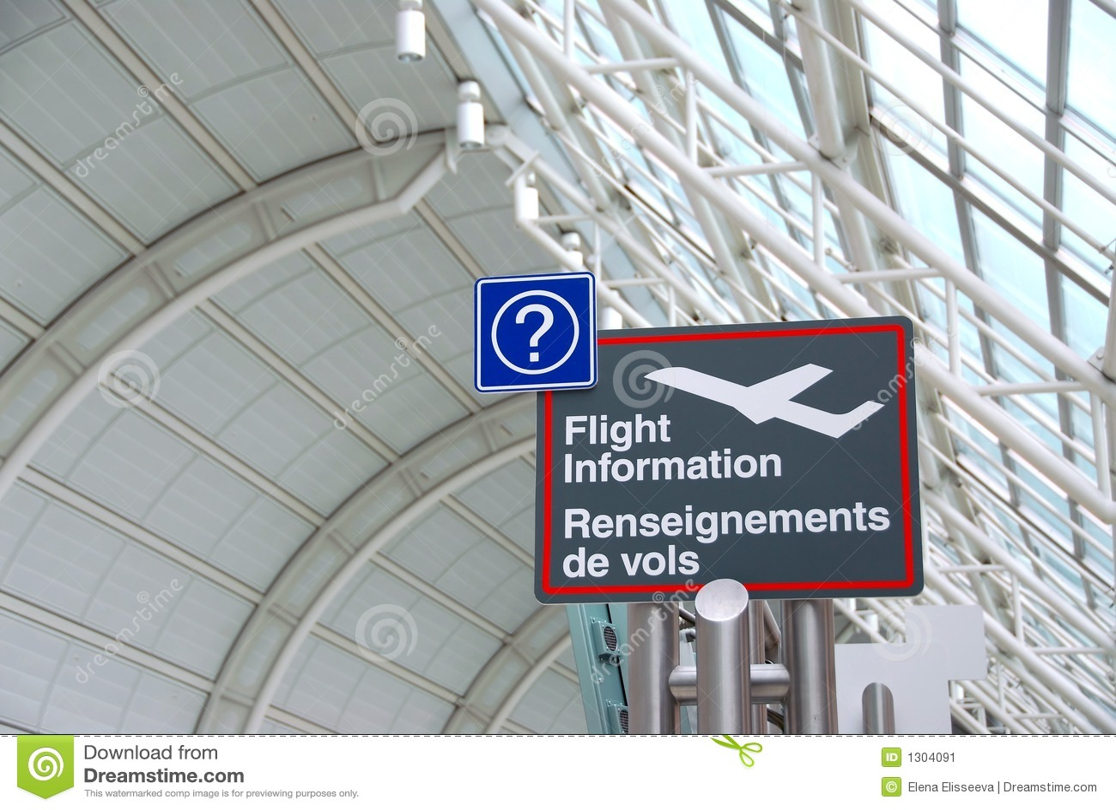 Znak na lotnisko