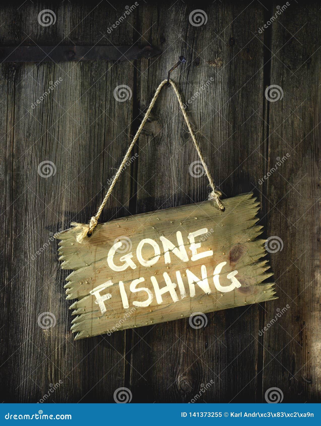 Znak z Iść łowić