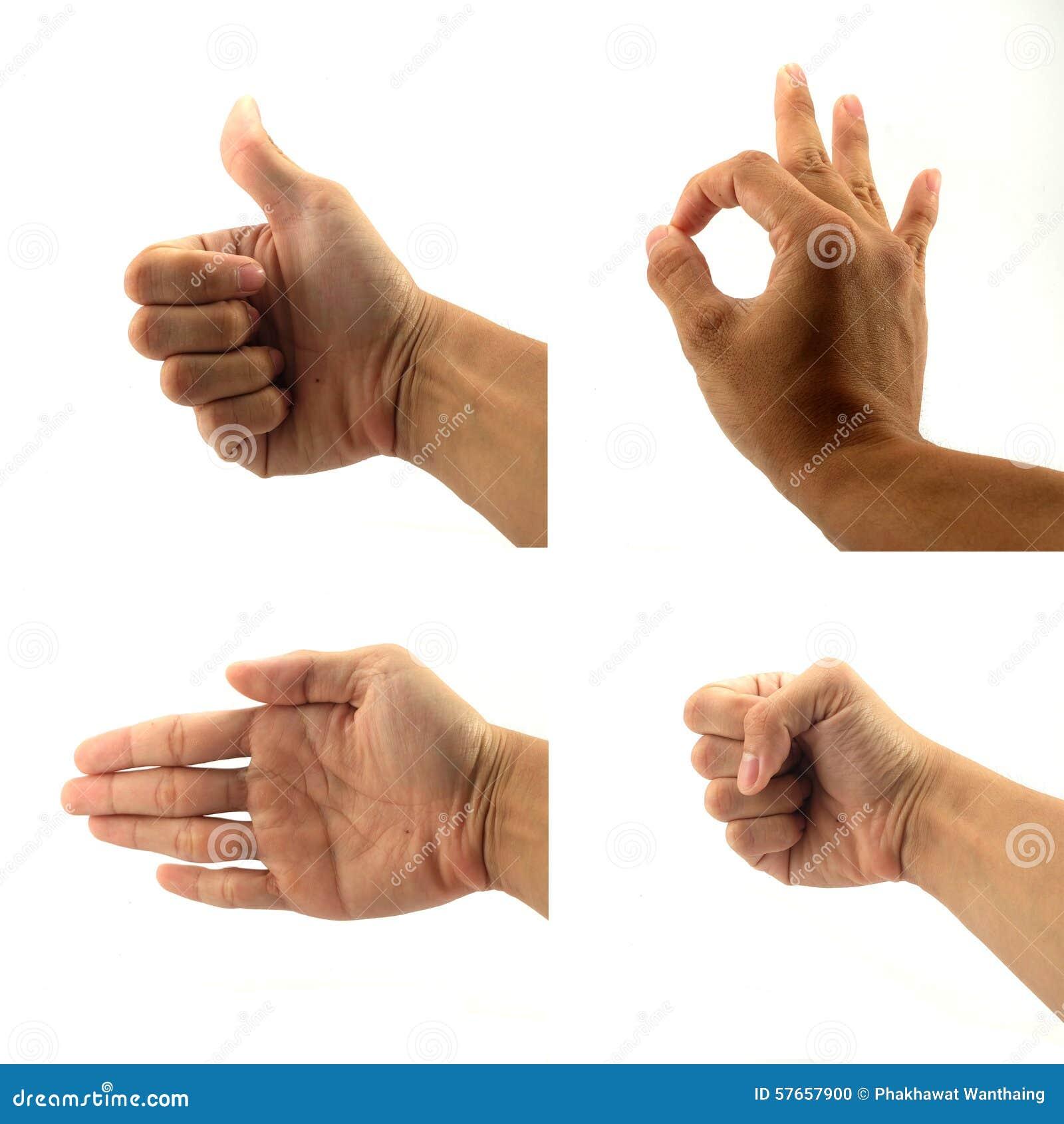 Znaka i sygnału ręka
