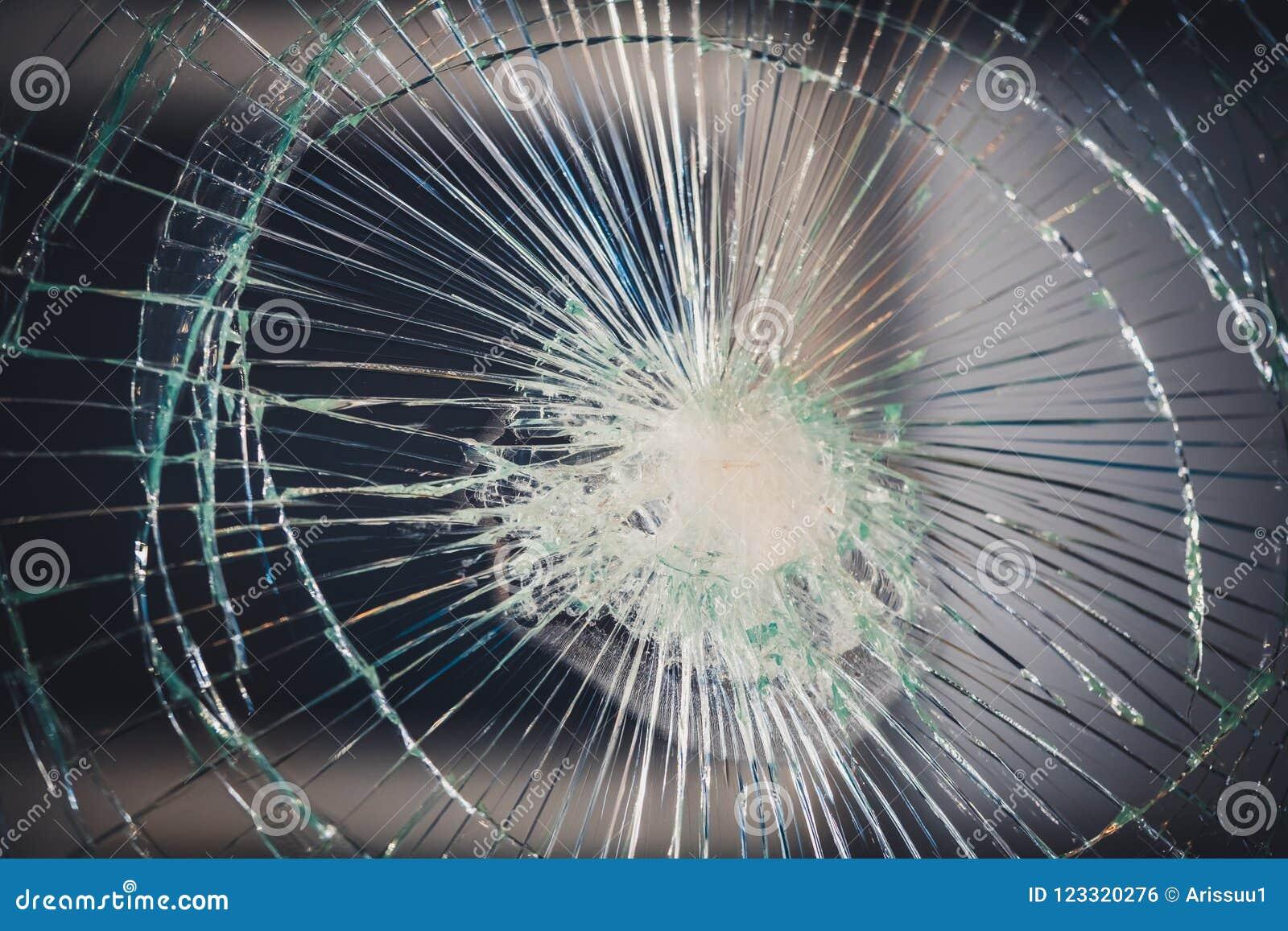 Zniweczony Łamający Szklany tekstury tło