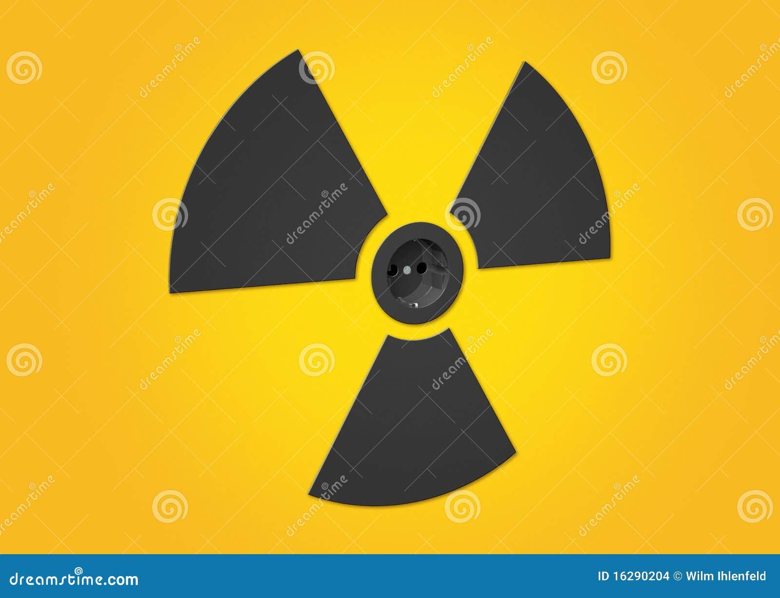 Simbolo energia nucleare