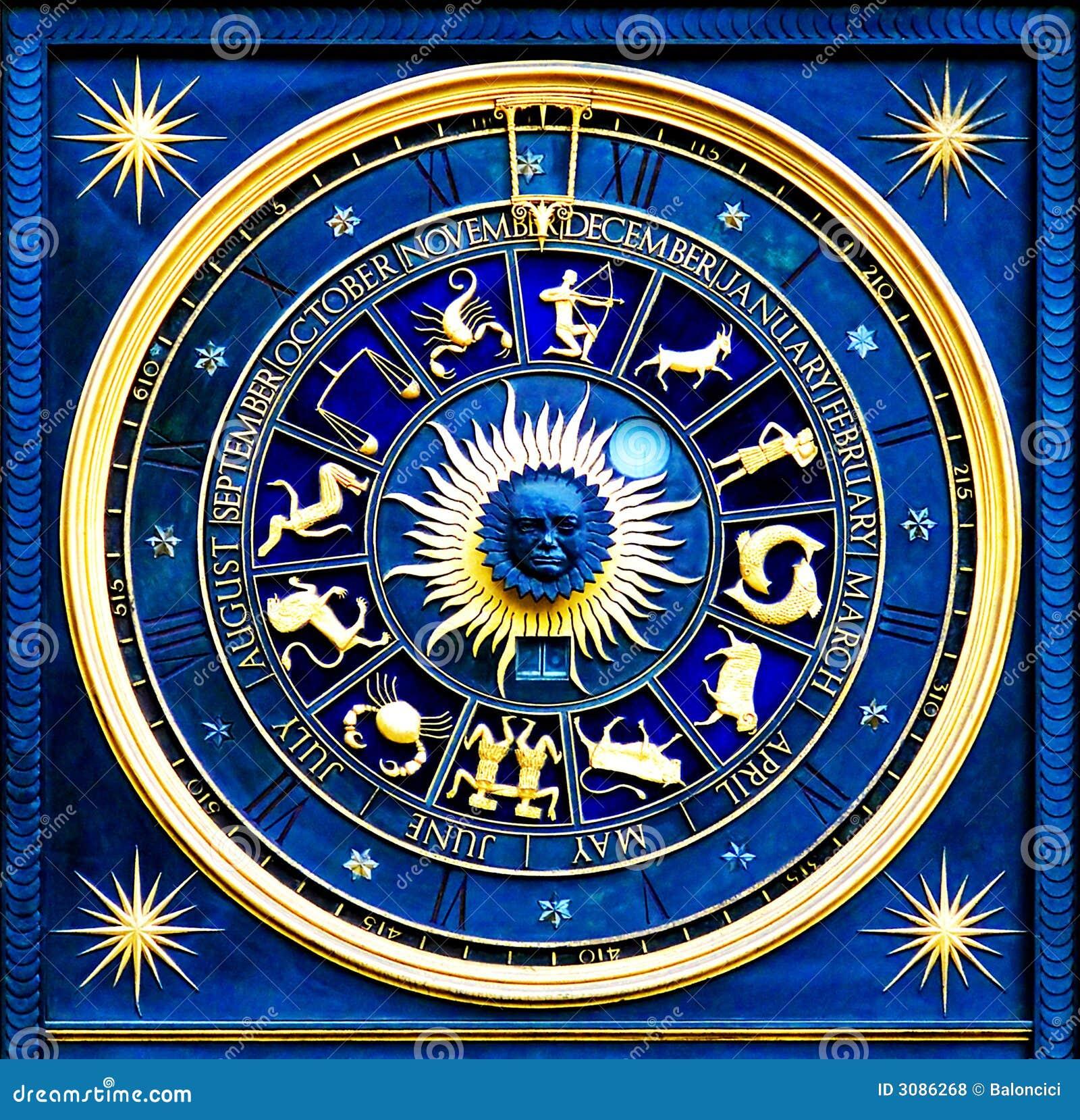 Zodiac blue royalty free stock photos image 3086268