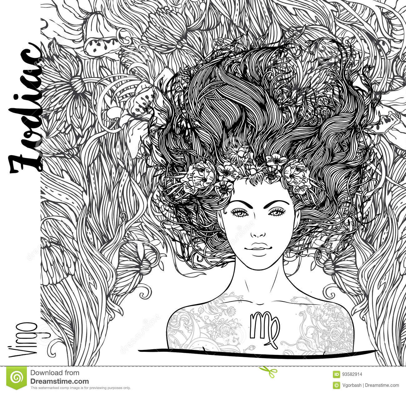 africain zodiac coloring pages - photo#37