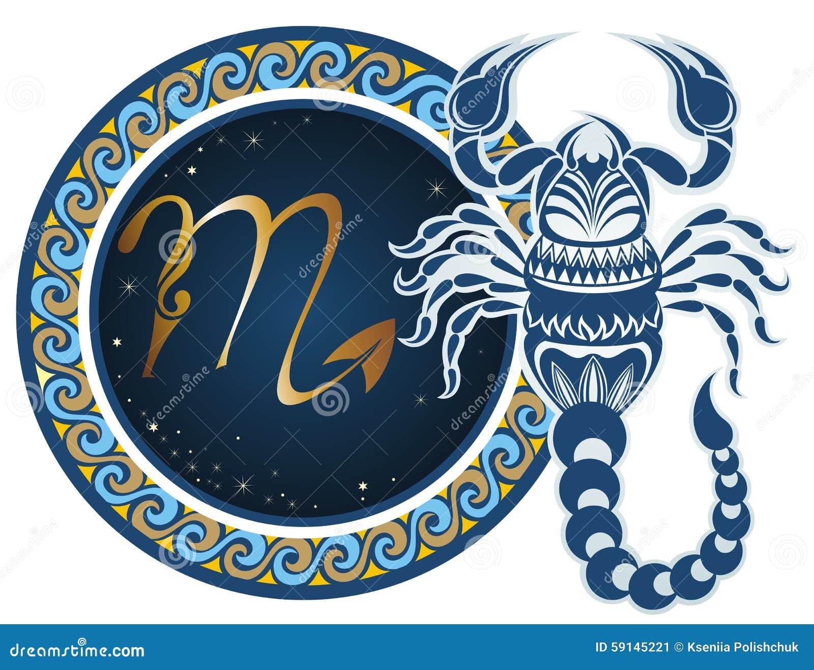 Zodiac Signs Scorpio Tattoo Designs