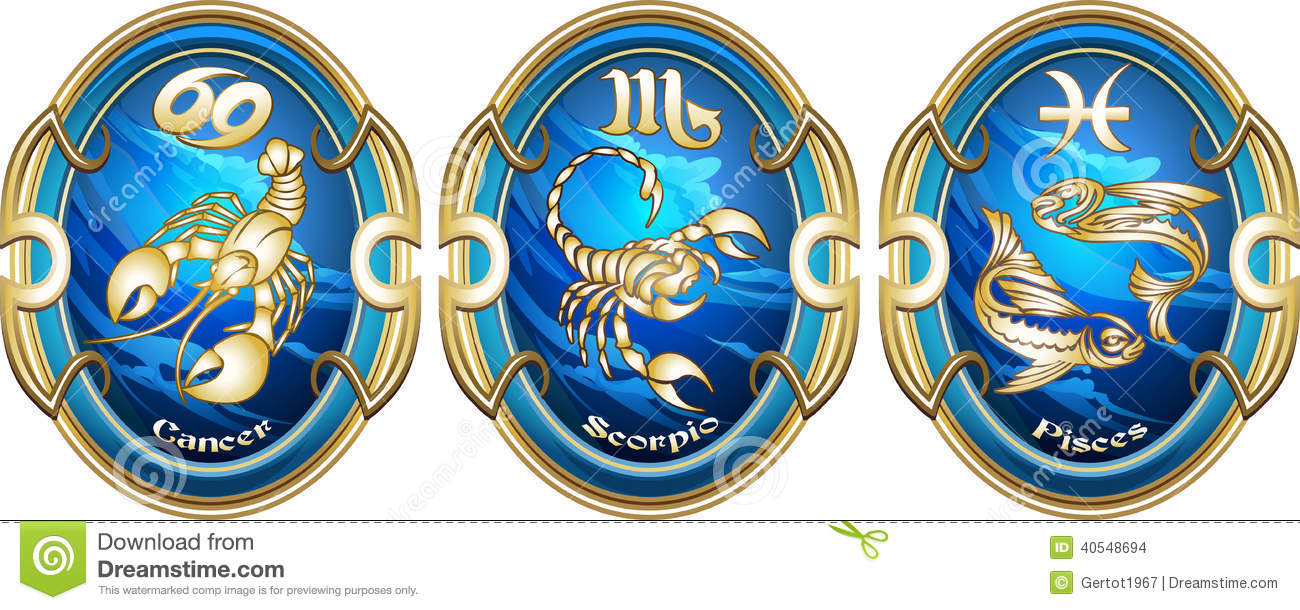 Zodiac style: water signs -