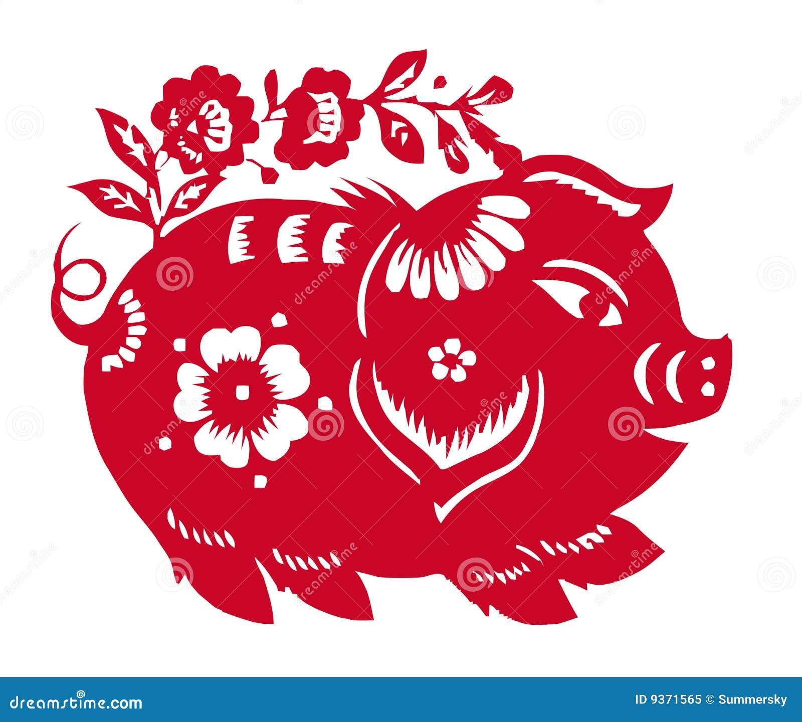 Zodiaco chino del año del cerdo